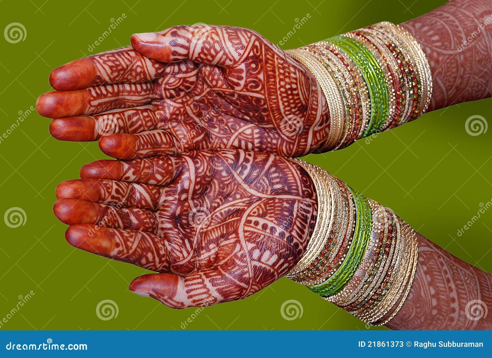 Mehndi Hands Xl : Bridal mehndi stock photos image
