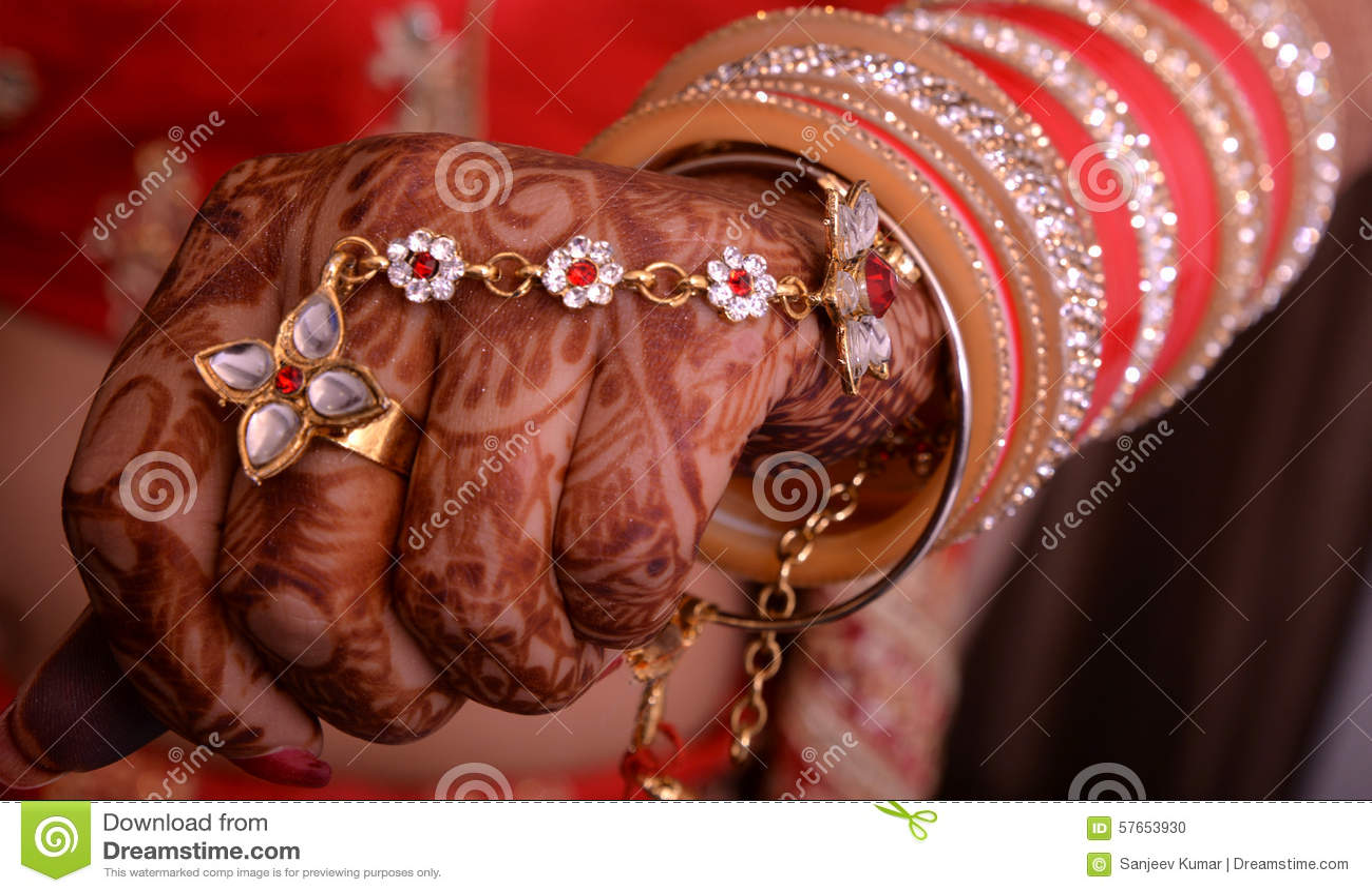 Bridal ręka