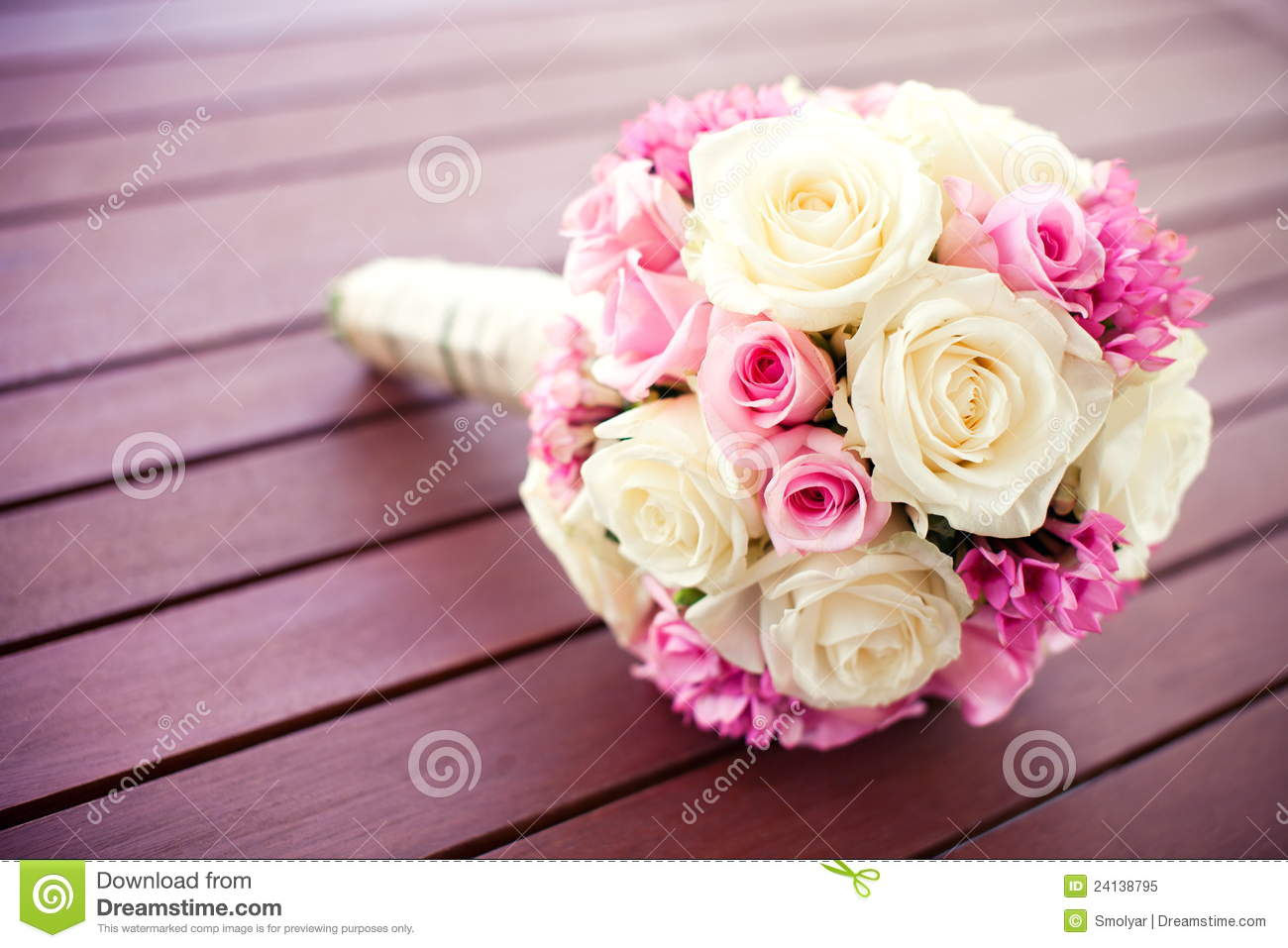 Bridal rose bouquet stock image image of pink wedding 24138795 bridal rose bouquet izmirmasajfo