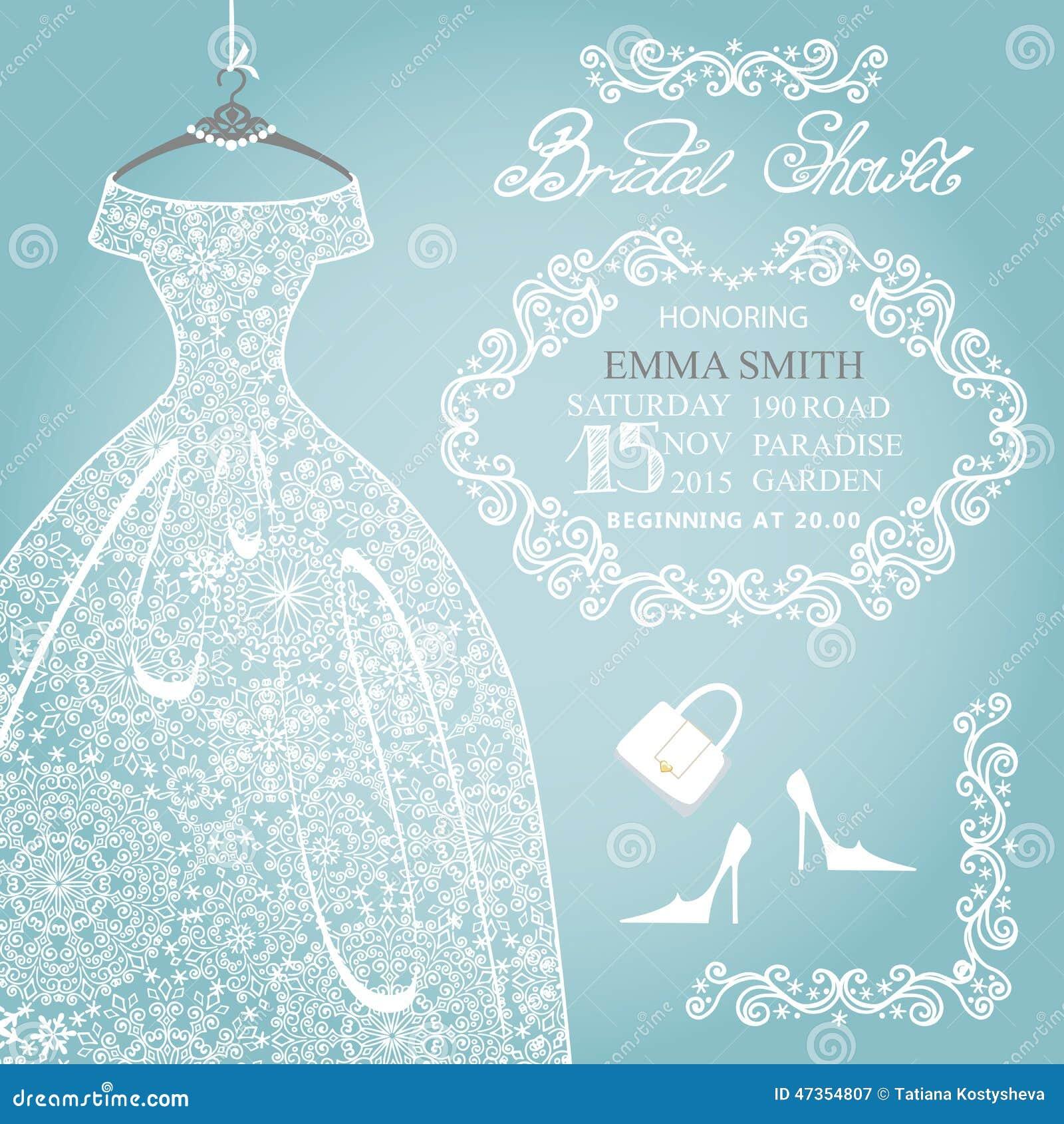 Bridal Shower Invitation.Wedding Snowflake Lace Stock Image - Image ...