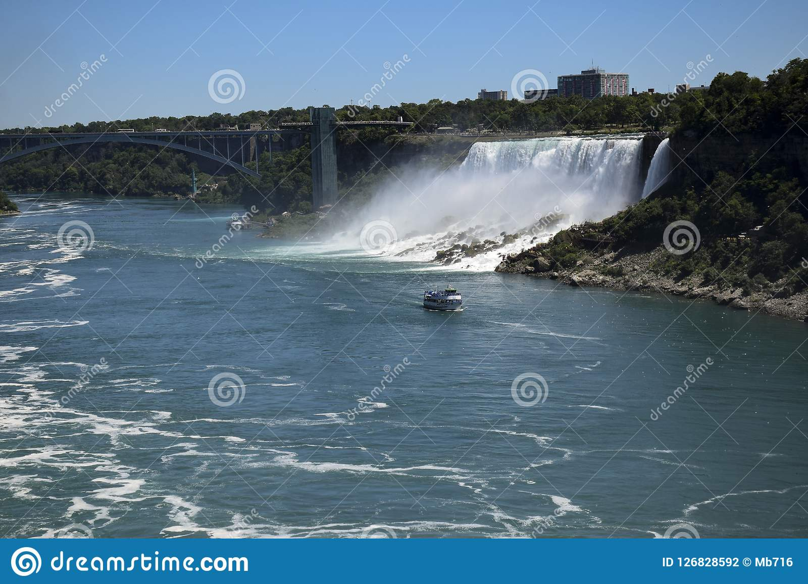 Bridal Veil Falls Niagara Falls Editorial Photography Image Of