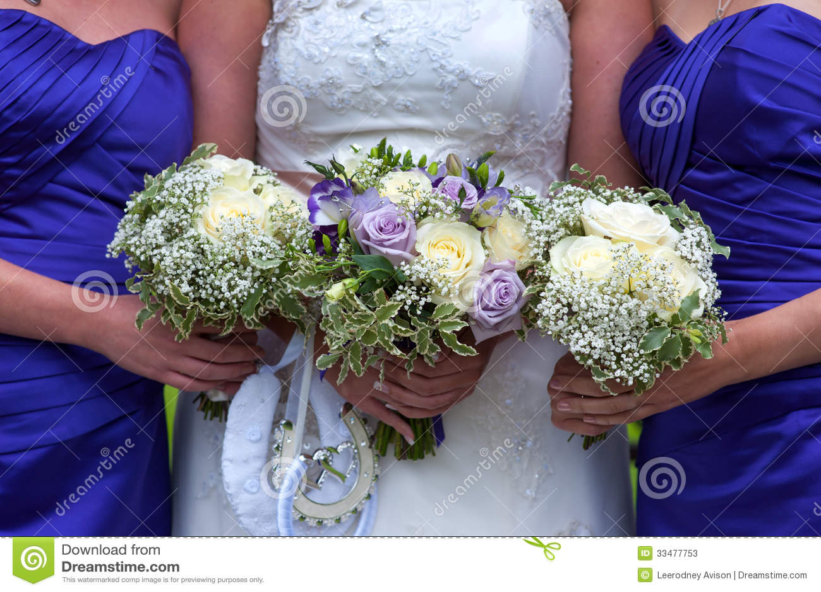 Bride and bridesmaids with wedding bouquets stock image image of bride and bridesmaids with wedding bouquets izmirmasajfo
