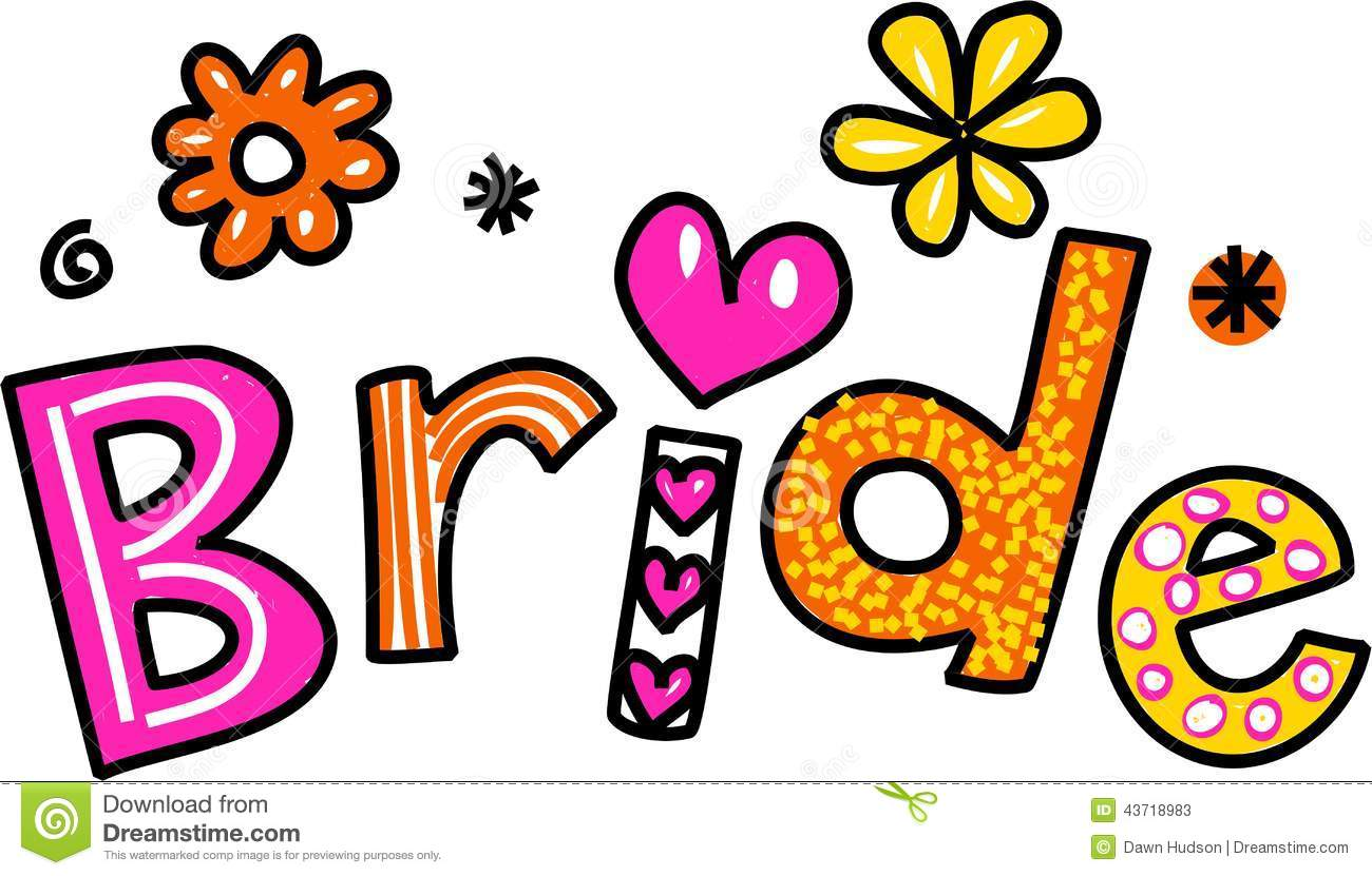 Bride Clip Art Stock Photos