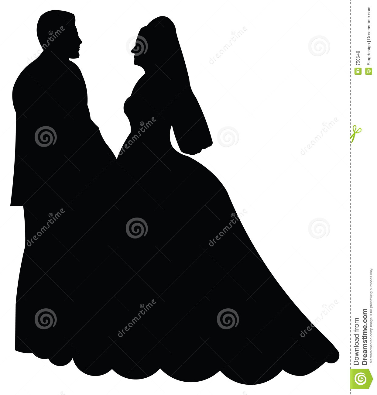 ... 18> Images For - Bride And Groom Silhouette Clipart Black And White