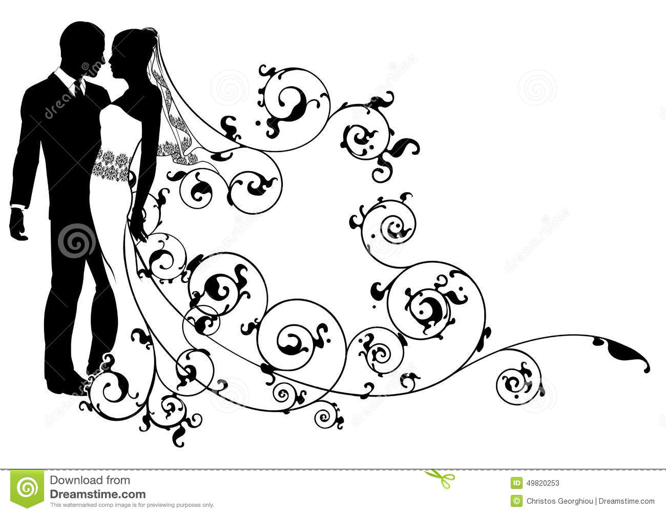 bride and groom abstract stock vector image 49820253 dancer silhouette vector file dancing silhouette vector free