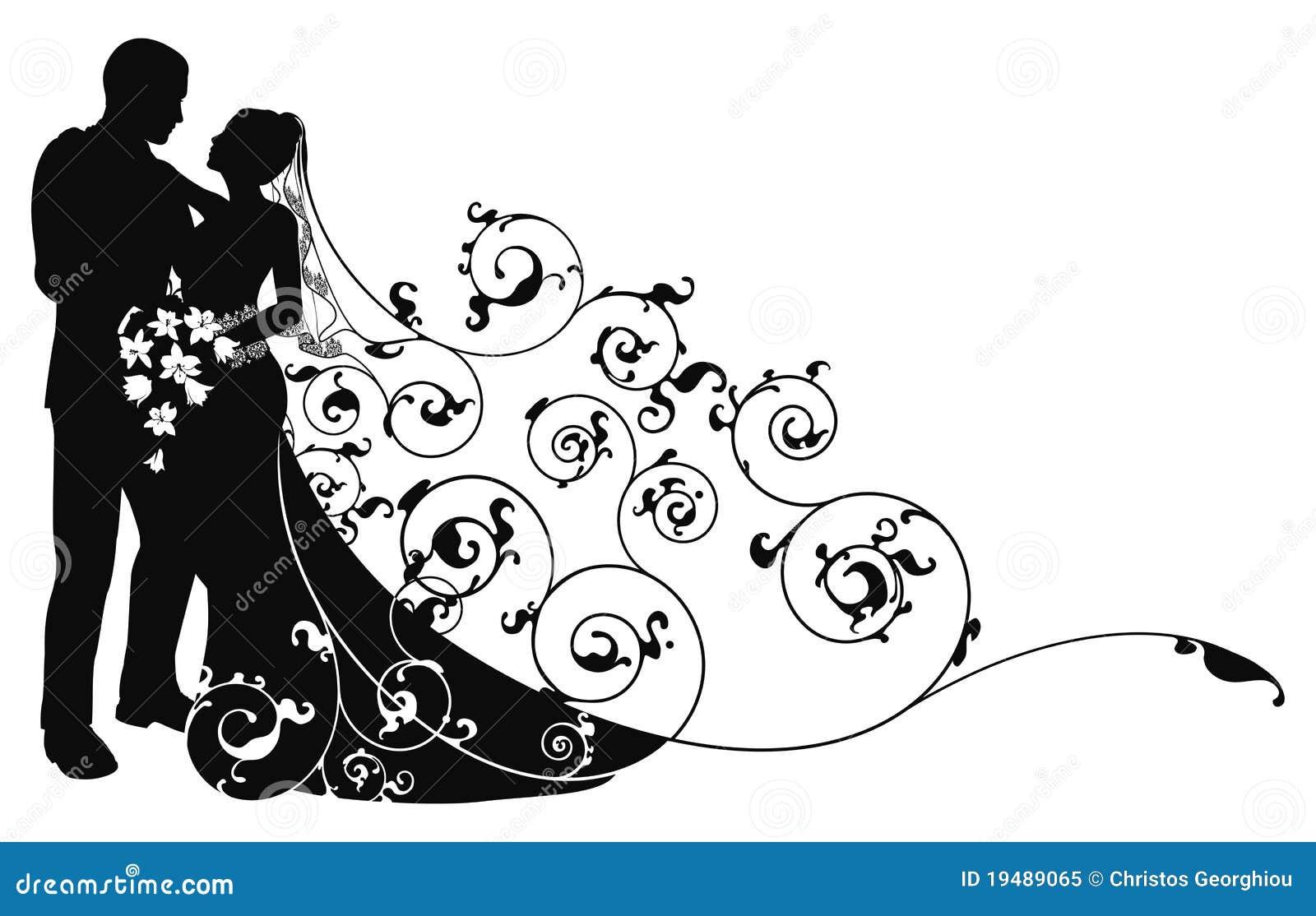 Bride Groom Silhouette Stock Illustrations 4 970 Bride Groom Silhouette Stock Illustrations Vectors Clipart Dreamstime