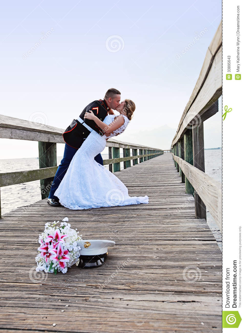 Bride And Groom Dance Stock Photos Image 33895643