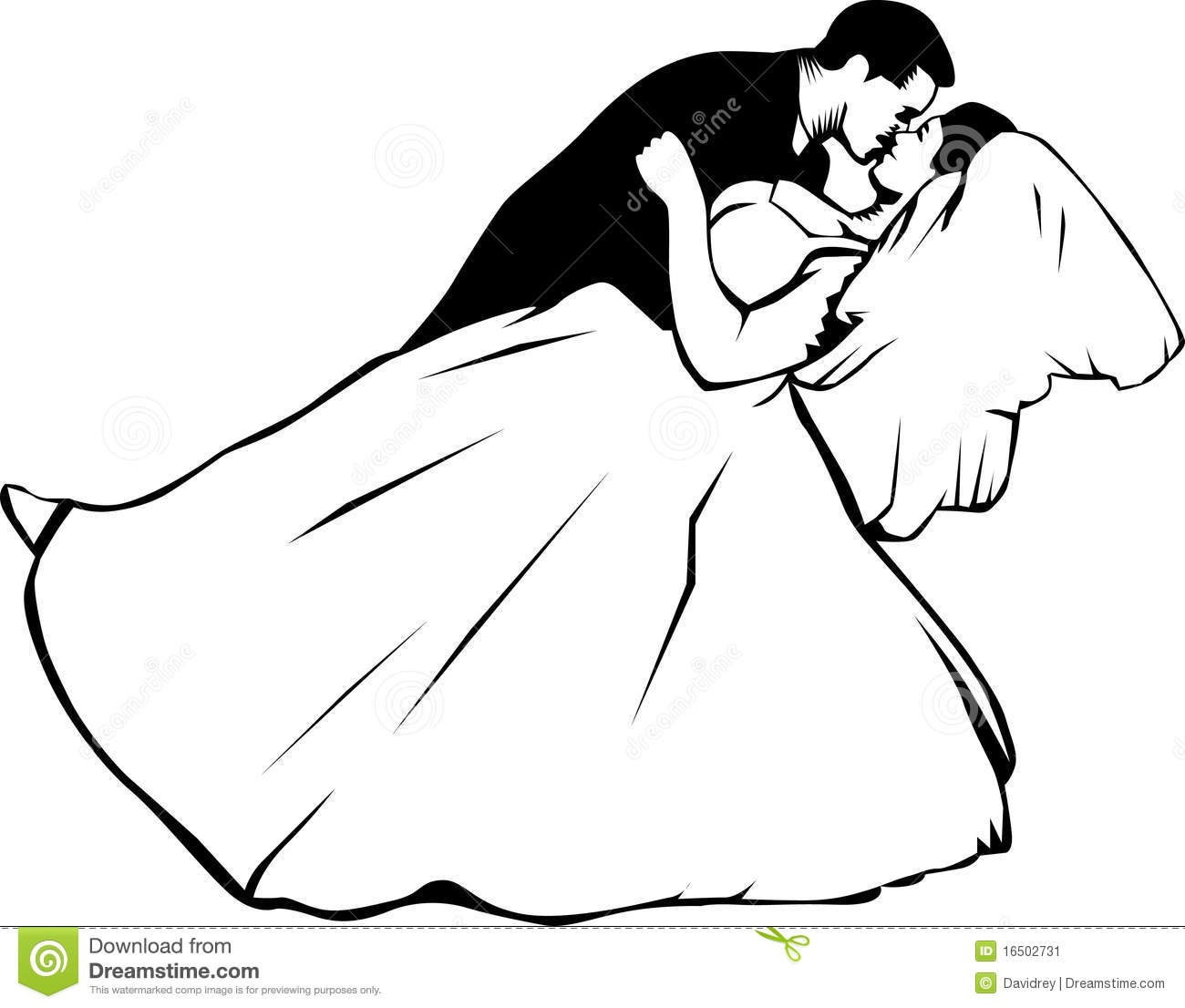 bride and groom kissing stock vector illustration of couple 16502731 rh dreamstime com bride clipart images bridal clip art free images