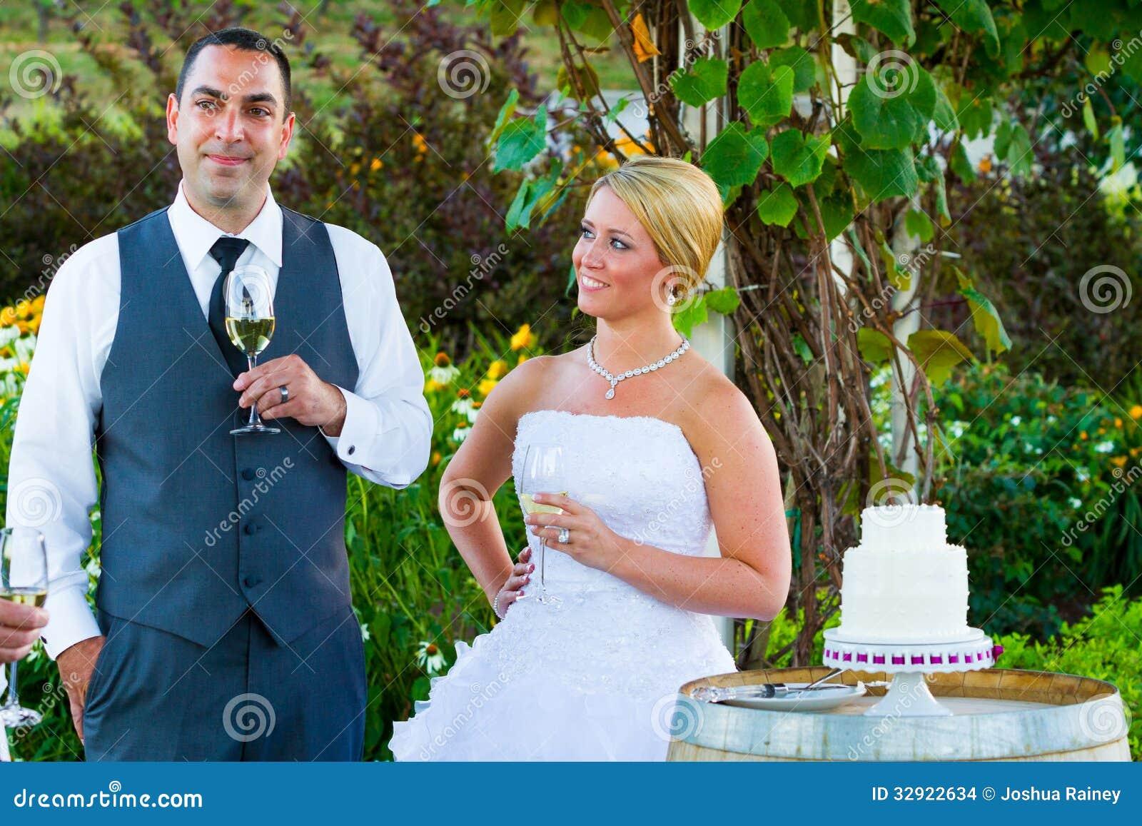 bride and groom wedding toasts stock photo image of wine