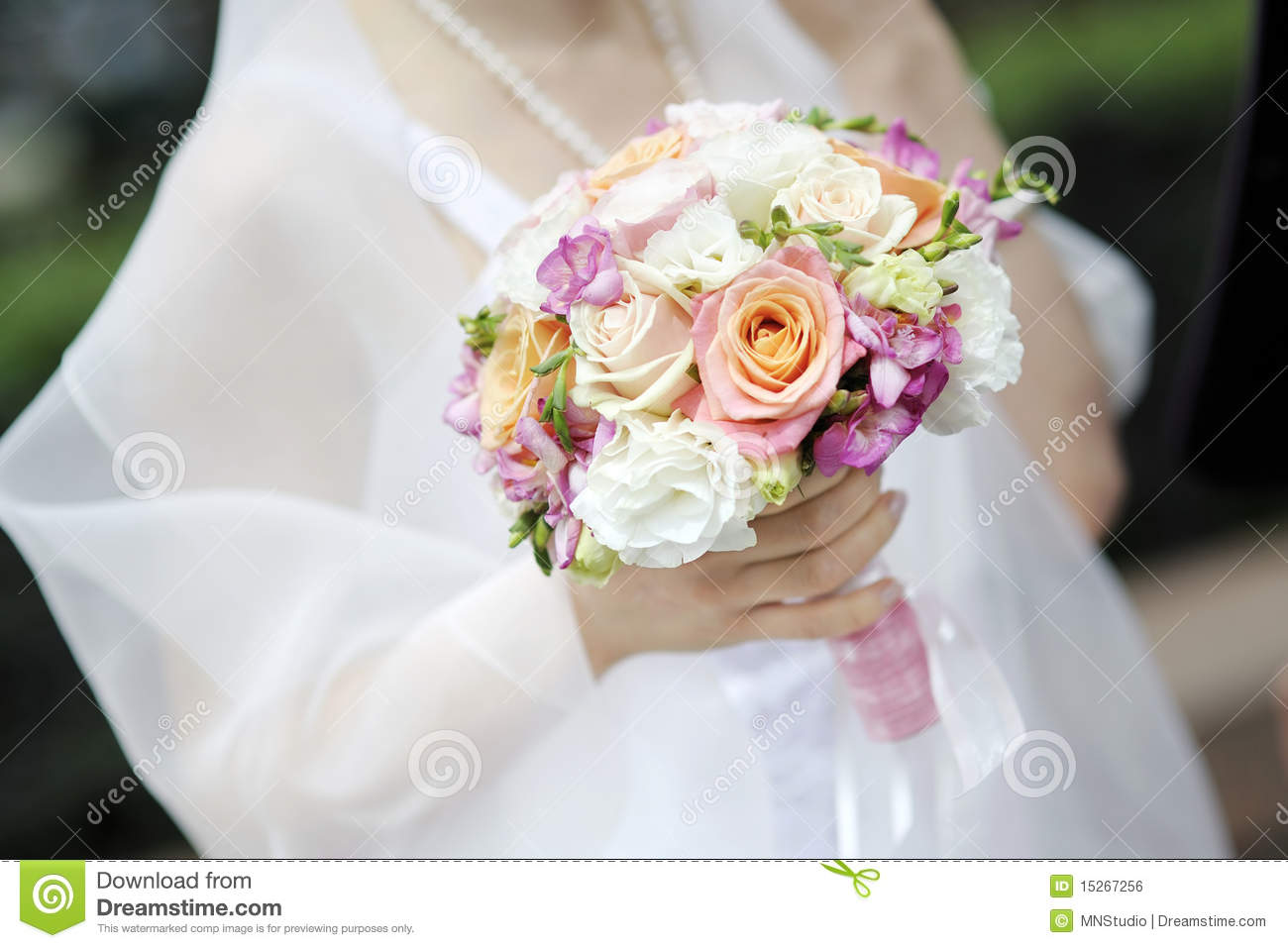 Bride holding beautiful wedding flowers bouquet stock photo image download bride holding beautiful wedding flowers bouquet stock photo image of girl happy izmirmasajfo