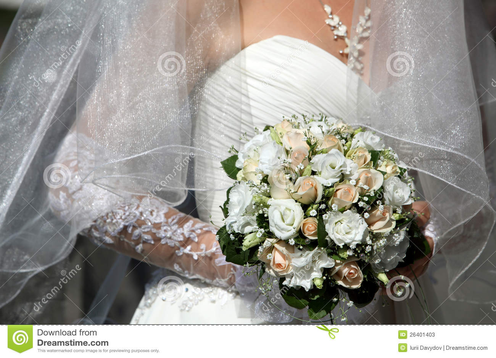Bride holding beautiful wedding flowers bouquet stock image image bride holding beautiful wedding flowers bouquet izmirmasajfo