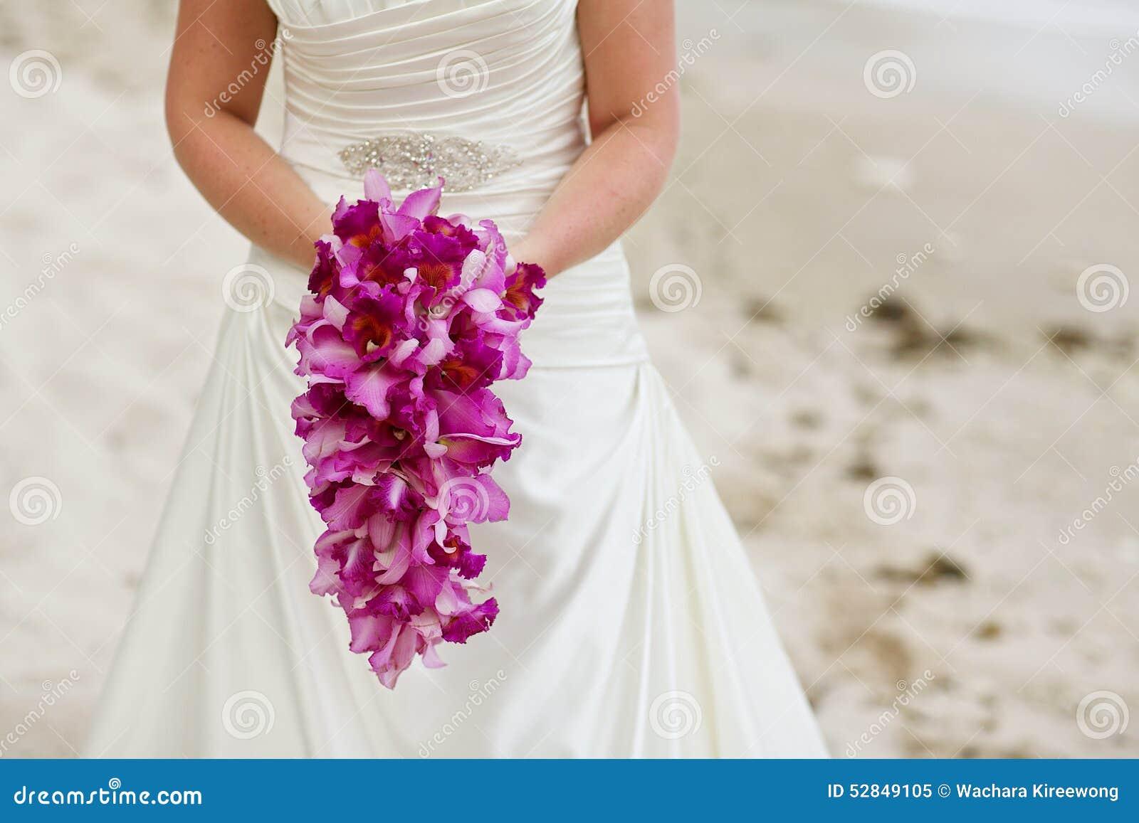 Purple Orchid Wedding Bouquets – Skyranreborn