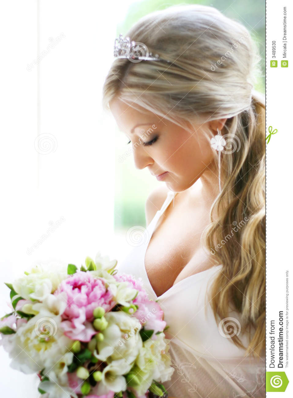 stock photo bride looking at bouquet image 3489530 bride and groom clipart free download bride and groom clipart free download