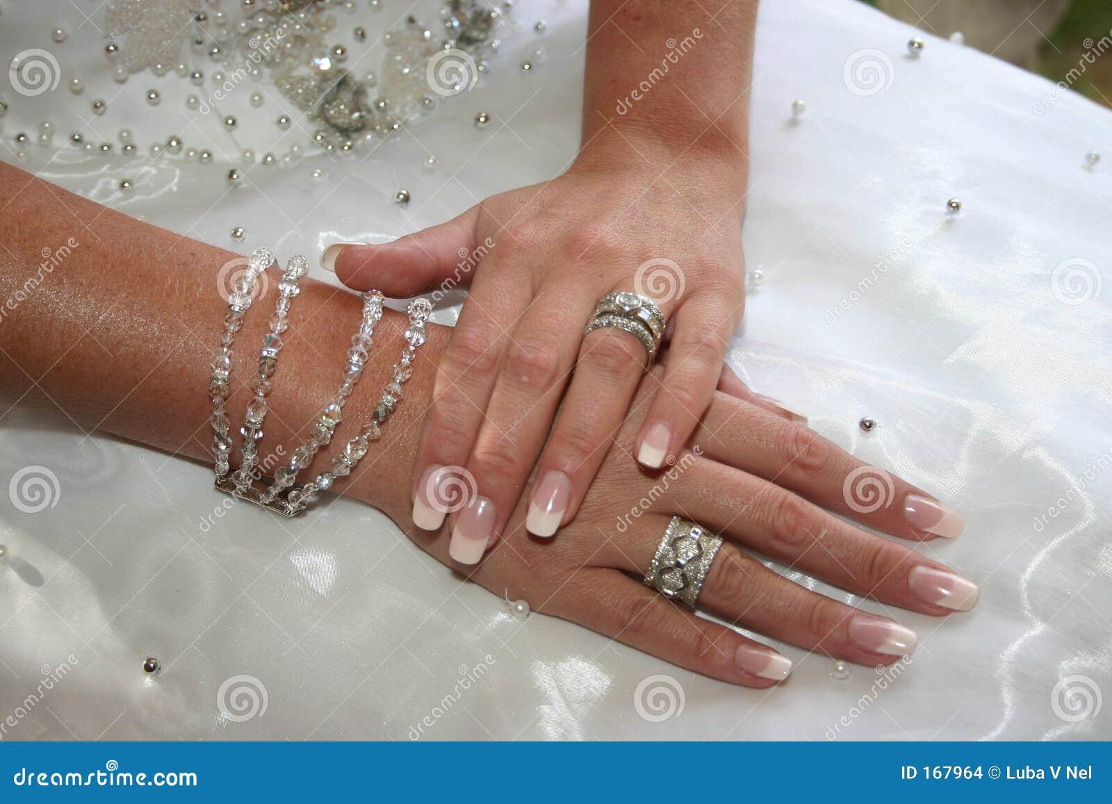 Bride s hands