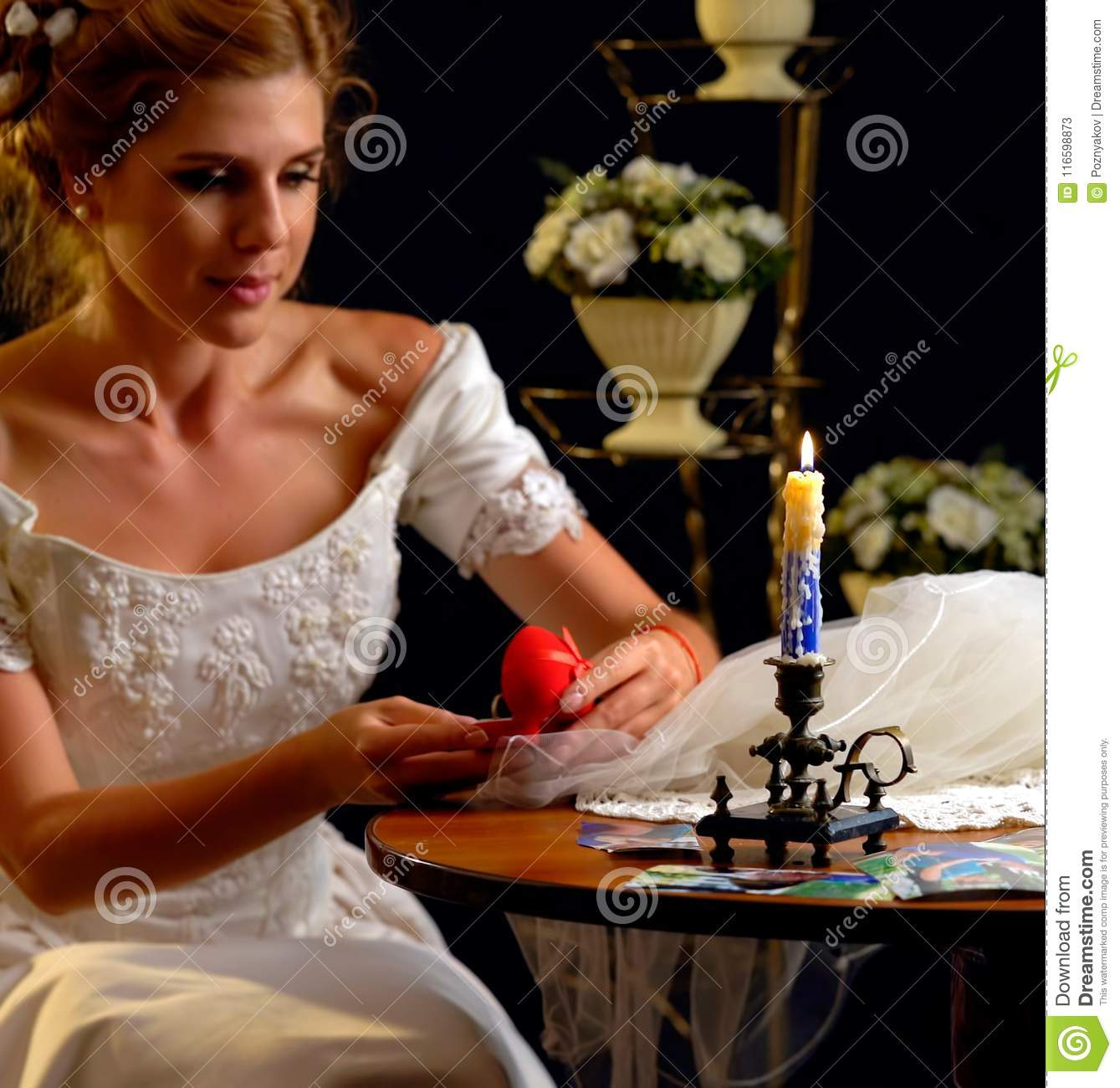 Bride Thinking About Choice Of Groom Woman In Wedding Dress Stock Image Image Of Dress Candle 116598873,Casual Mother Of The Bride Dresses For Beach Wedding