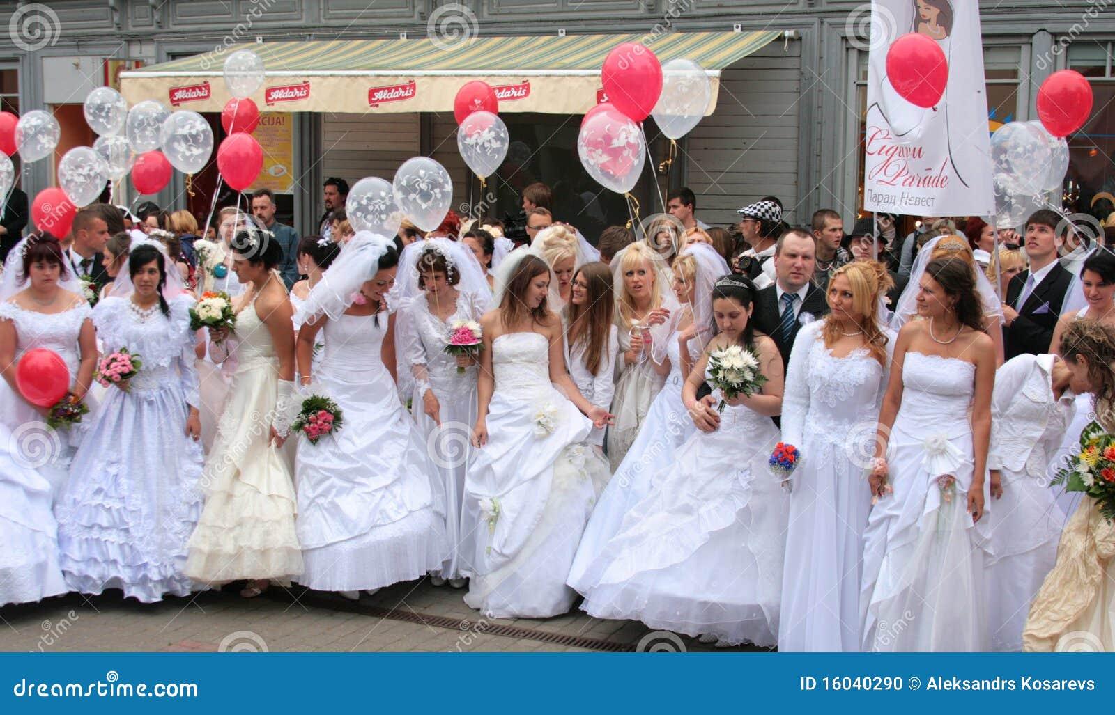 Brides parade 2010