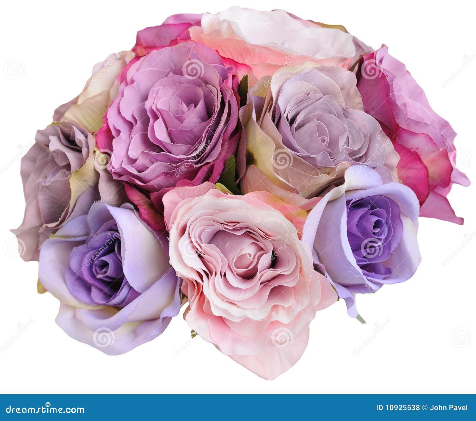 Bridesmade сделало розами posy шелк