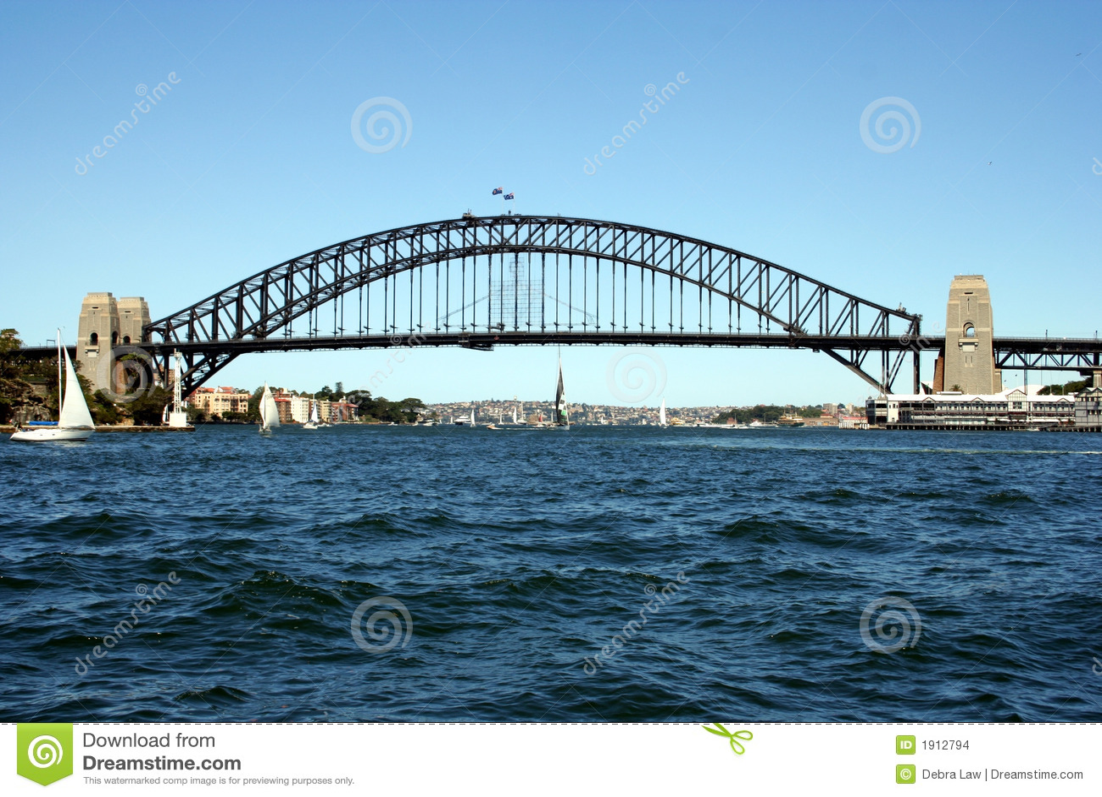 Bridg Sydney harbour australii