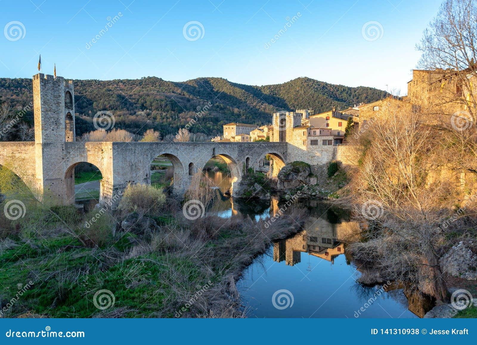Bridge of Besalu View