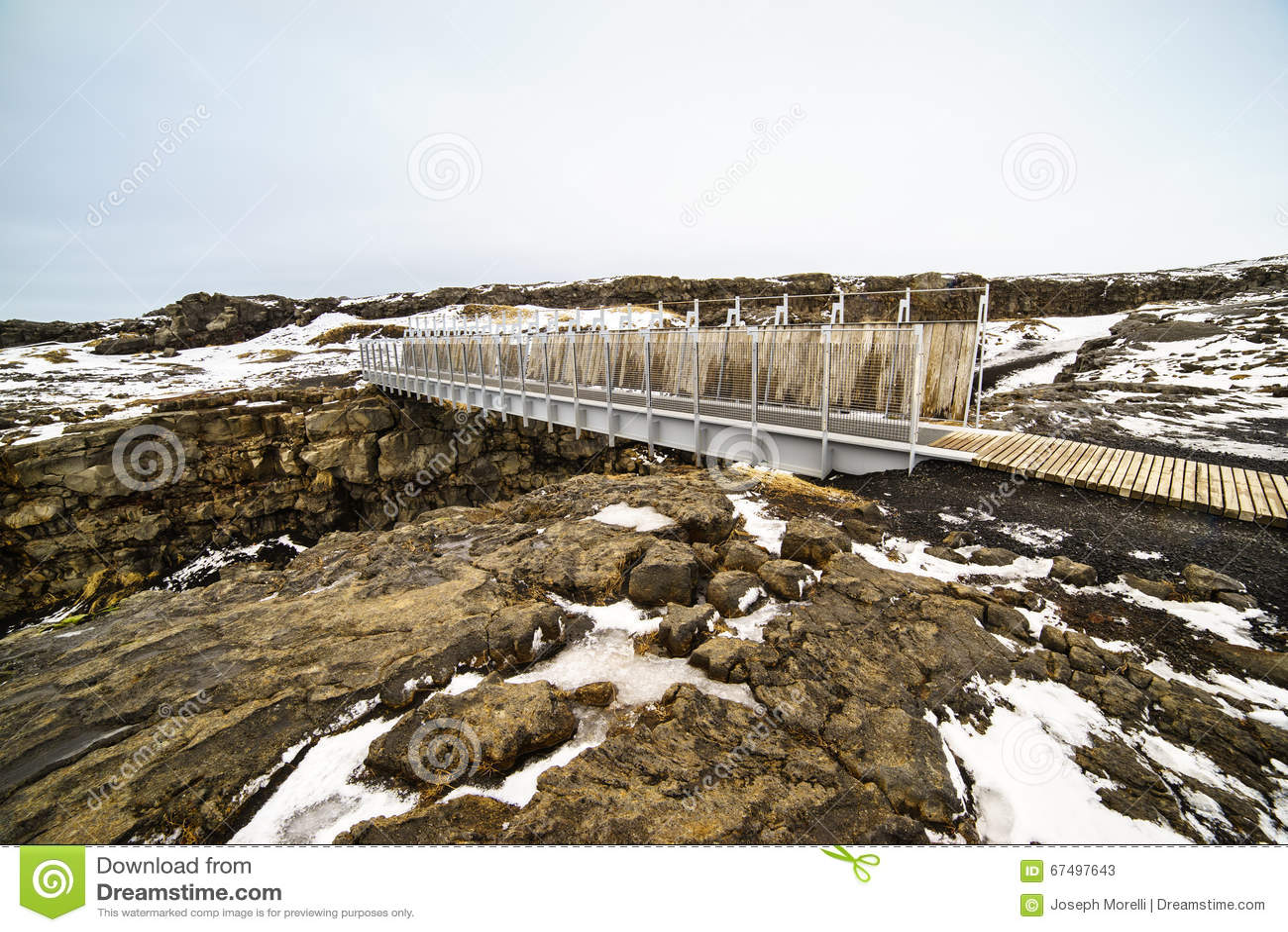 Bridge Between Continents Stock Photo - Image: 67497643