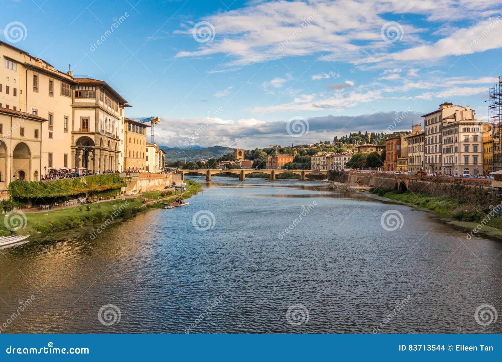 Bridge In Florene, Italy Stock Photo