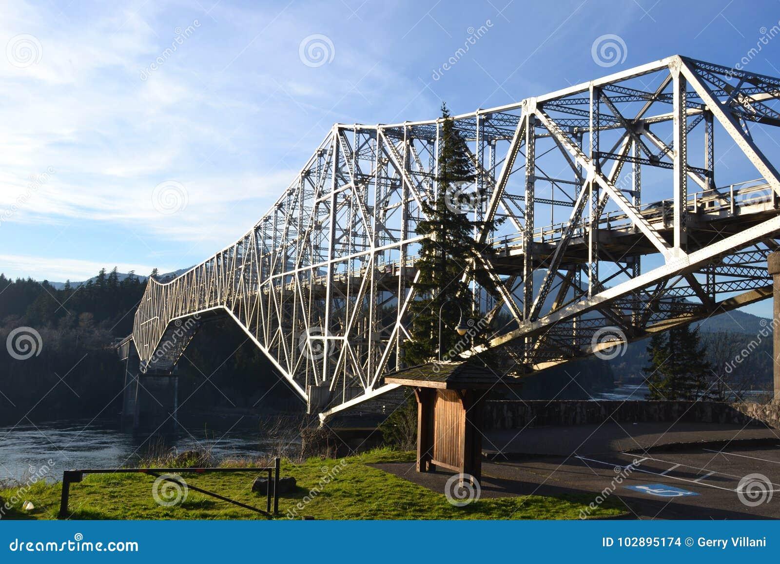 `Bridge of the Gods`, Columbia Gorge, WA & OR
