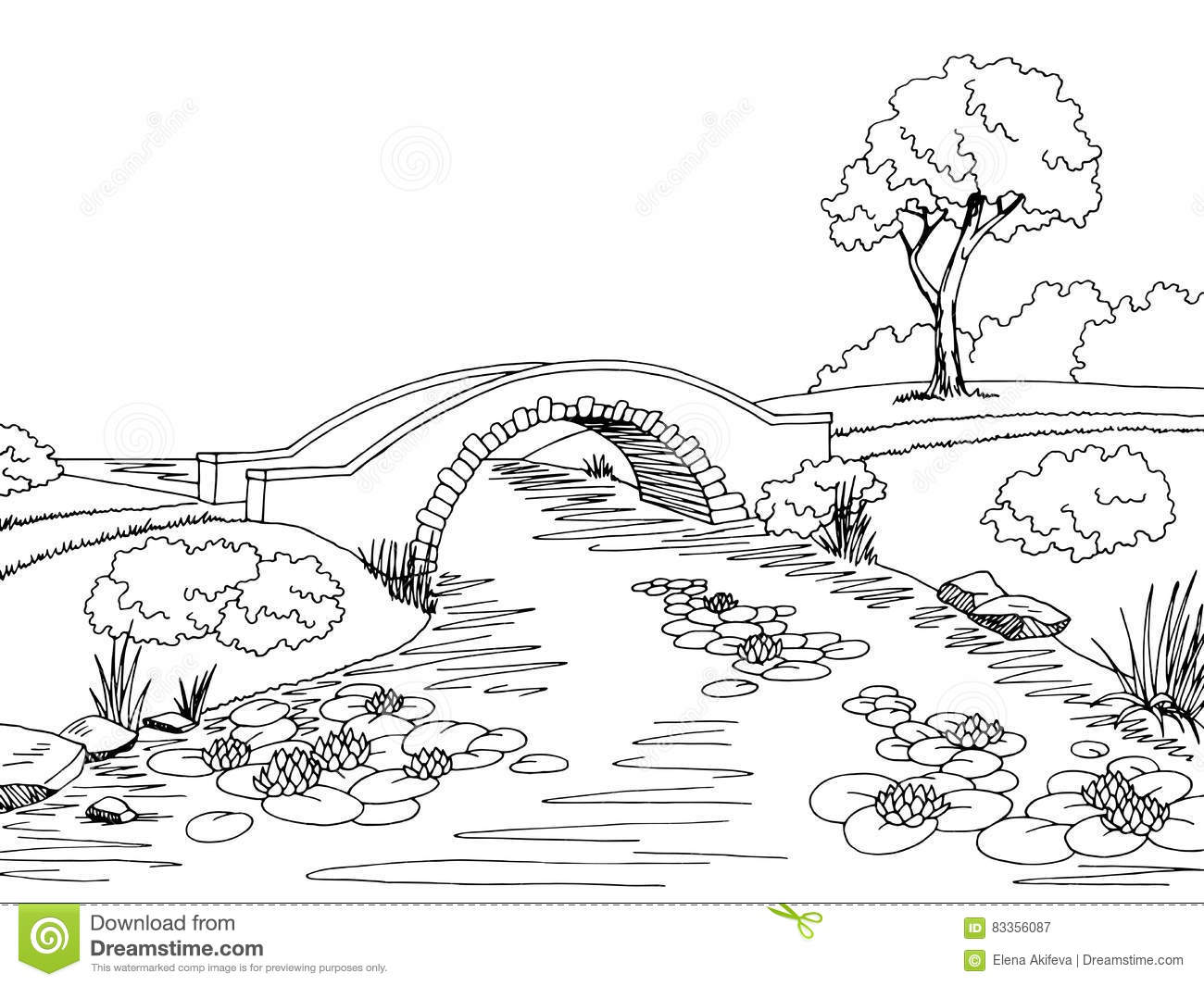Stock Illustration Countryside Sketch Illustration Hand Drawn Your Design Image83001907 also Stock Illustration Mountain Lake Pine Trees Landscape Hand Drawn View Forest Vector Illustration Image67951861 in addition Indian chief headdress furthermore Bridge Graphic Art Black White Landscape Sketch Illustration also Stock Illustration Soccer Ball Black Outline Vector White Background Image48570437. on outdoors graphic design