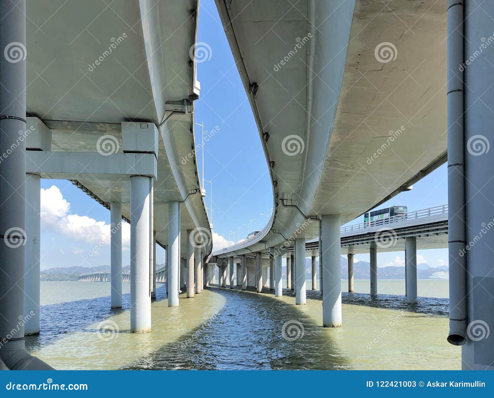 The Bridge Houhai Bay To Hong Kong Island