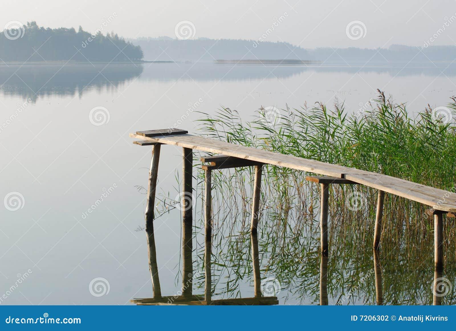 The bridge at lake