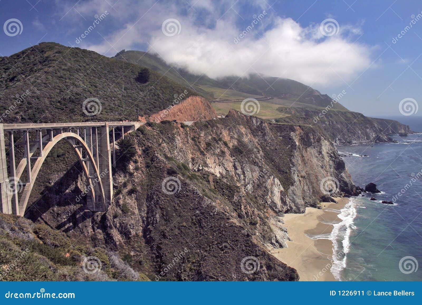 Bridge over Highway One