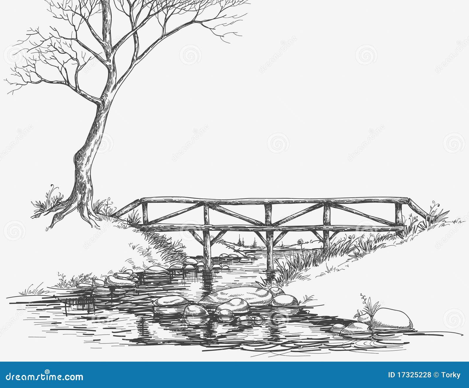 Bridge Over River Royalty Free Stock Photos Image 17325228