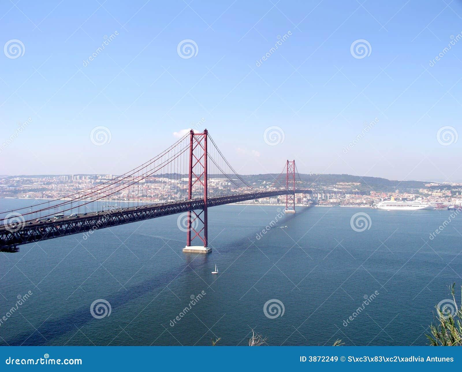 Bridge over river tagus