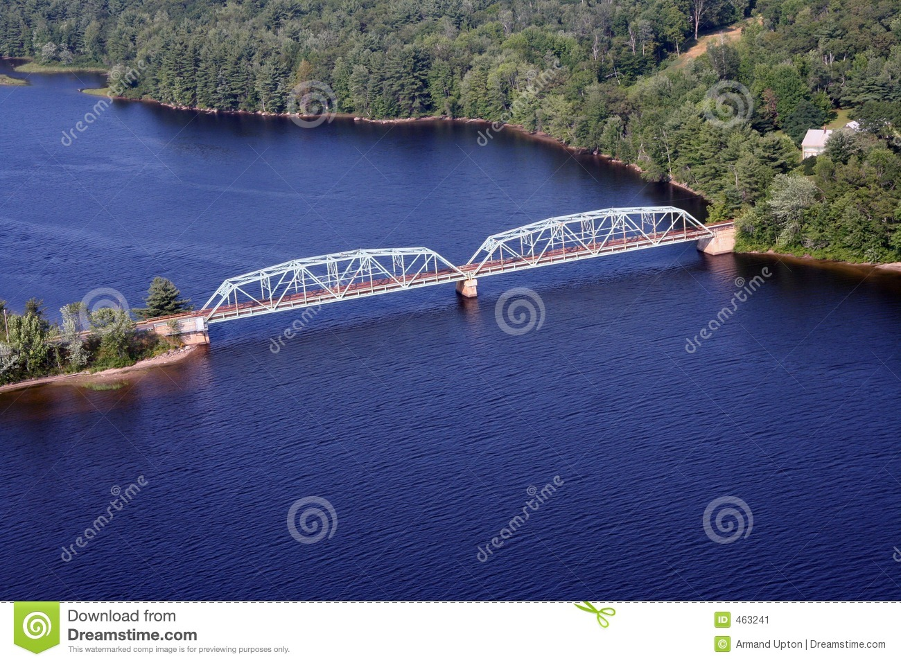 Download Bridge Over Troubled Waters Stock Image - Image of water, holiday: 463241