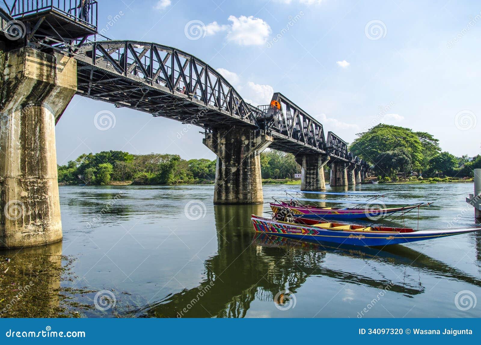 The Bridge of the River Kwai, Kanchanaburi, Thailand