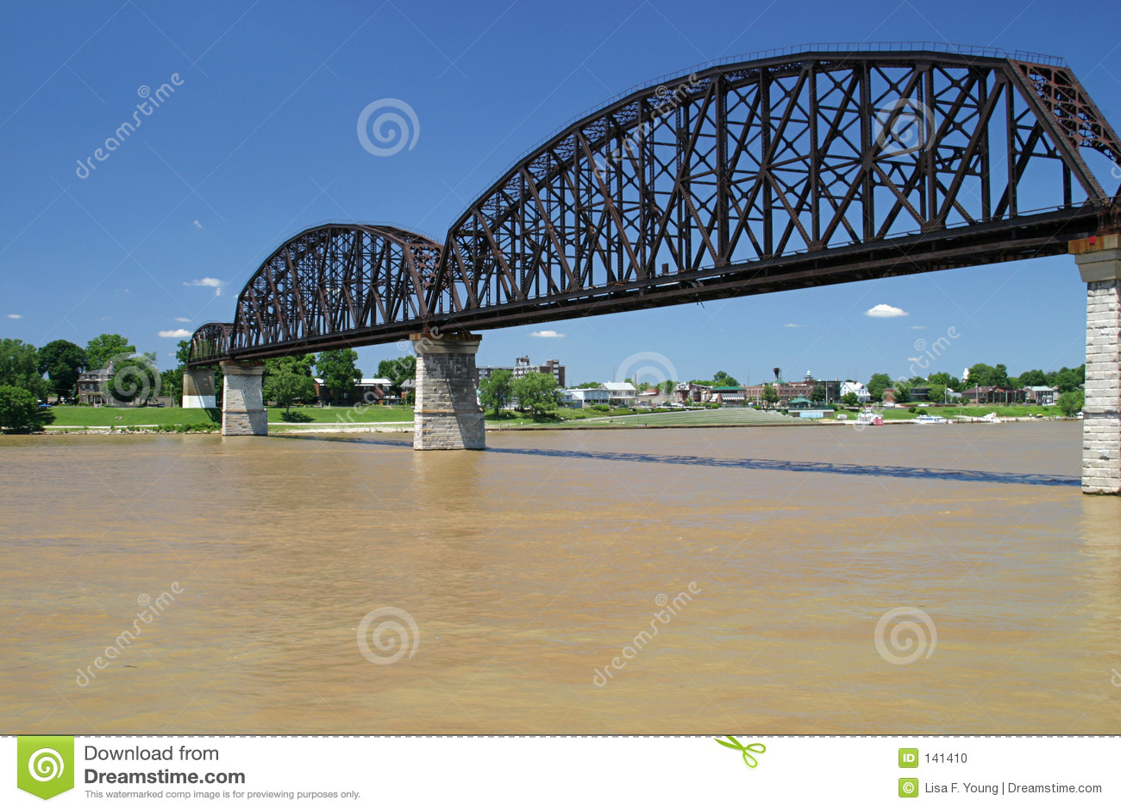 Bridge rzeki ohio wynosi 3
