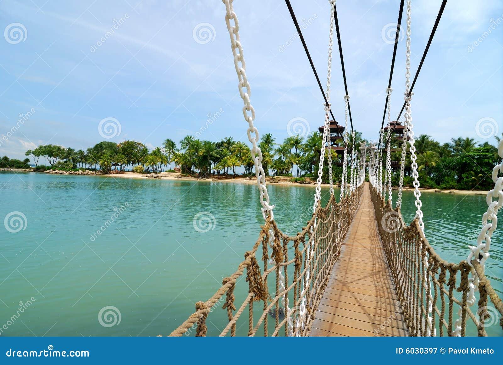 Bridge in Sentosa