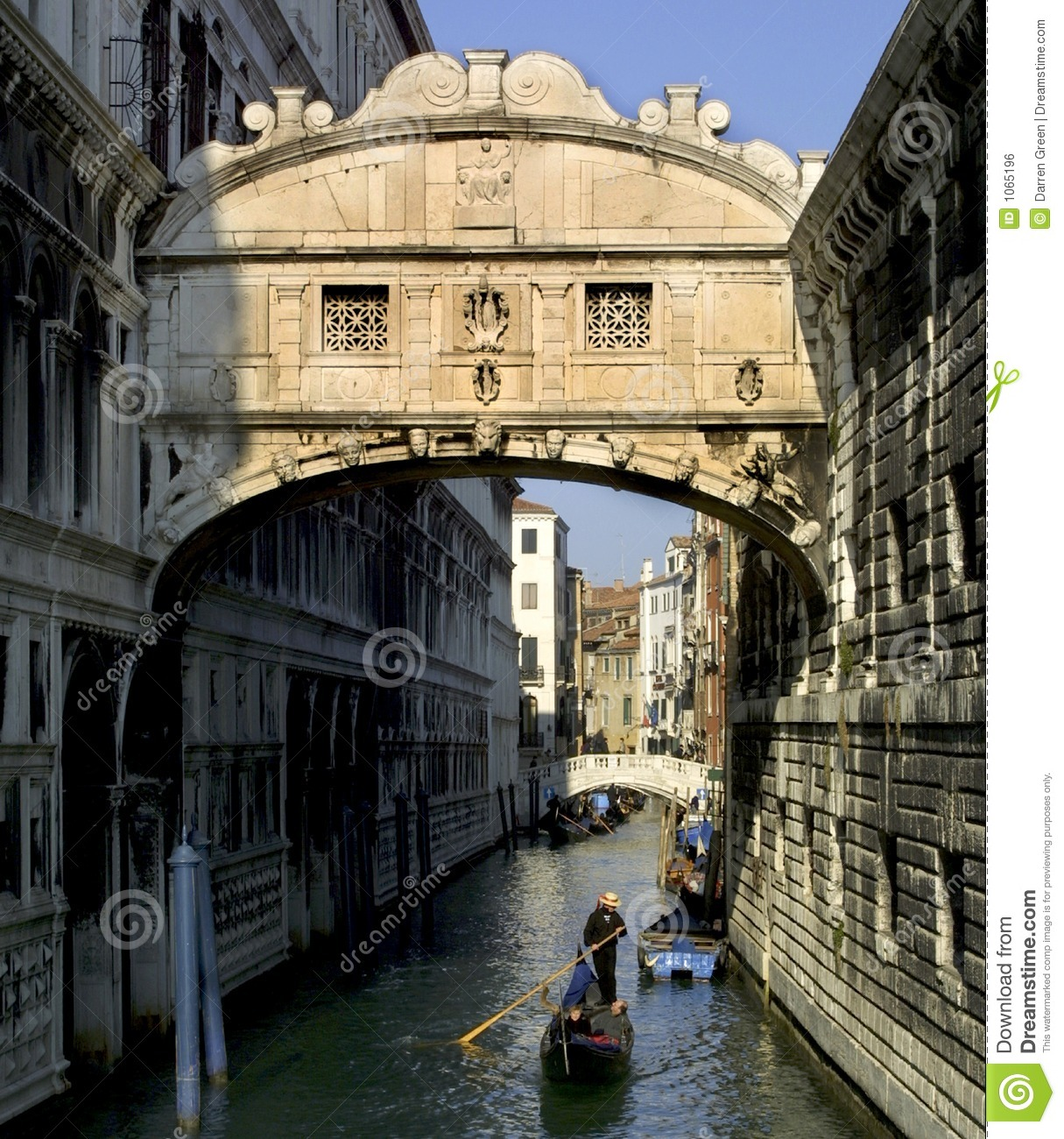 The Bridge Of Sighs Venice Stock Photo Image Of