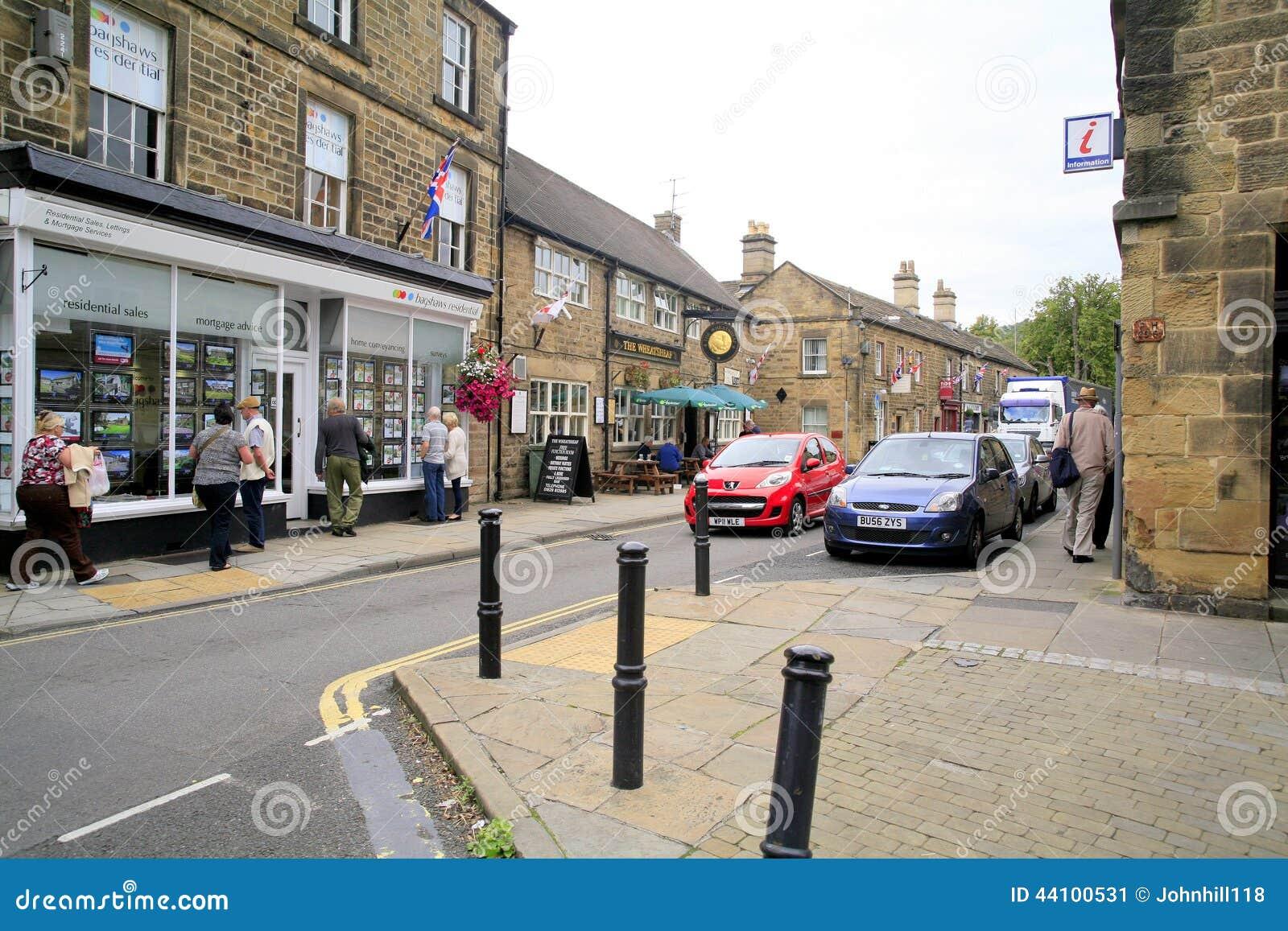 Bridge Street, Bakewell, Derbyshire.
