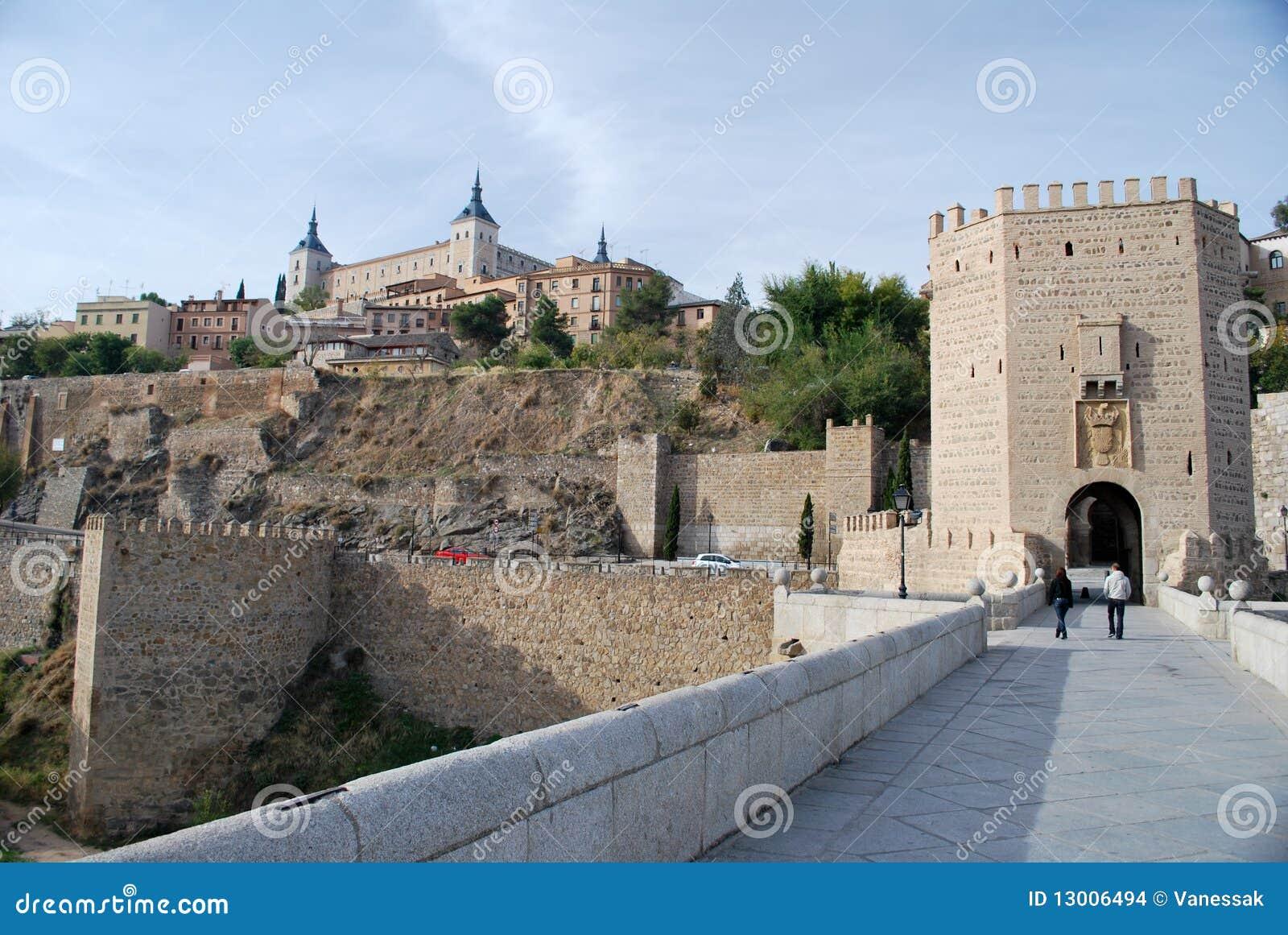 The bridge of Toledo in Spain