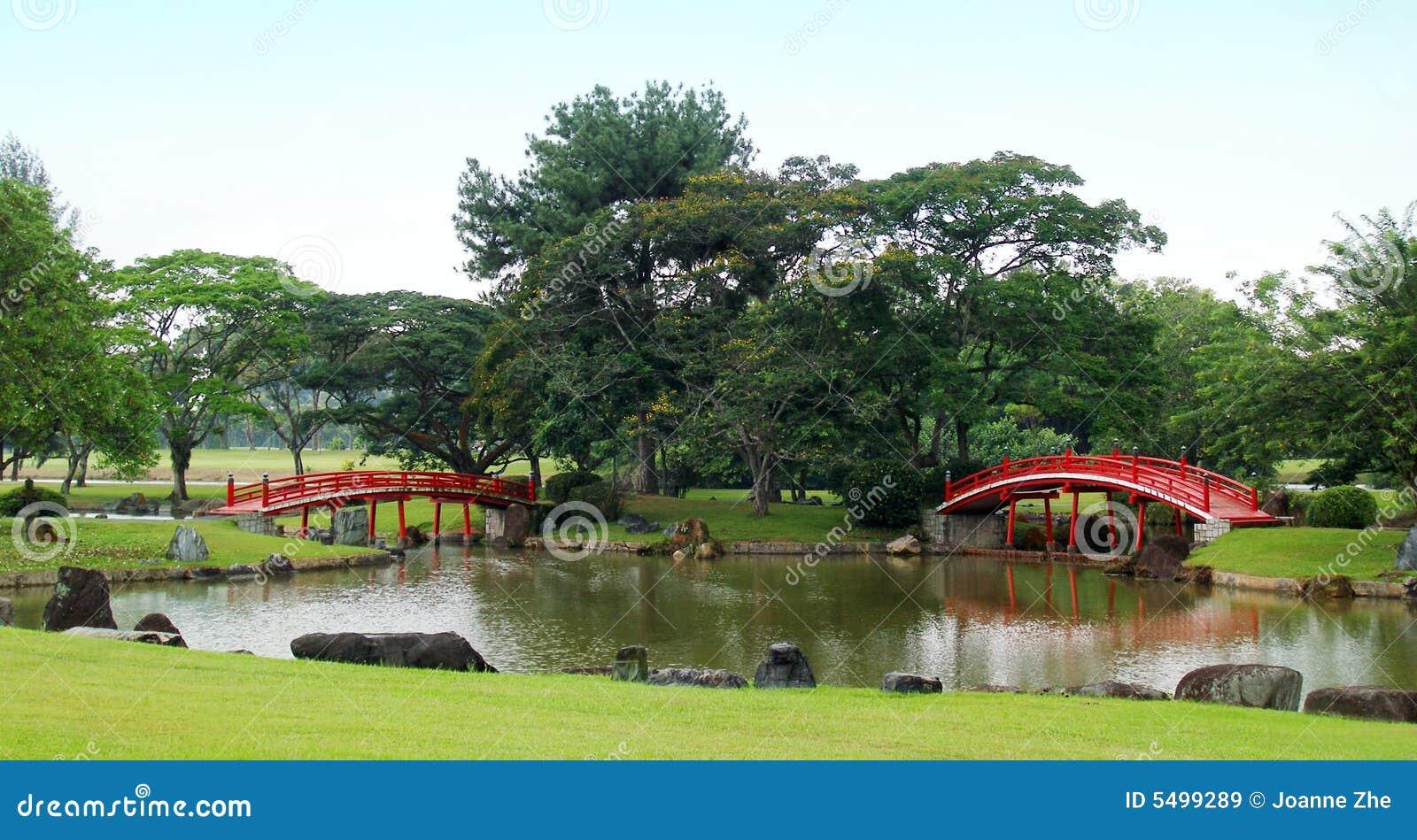 Bridges garden japanese red