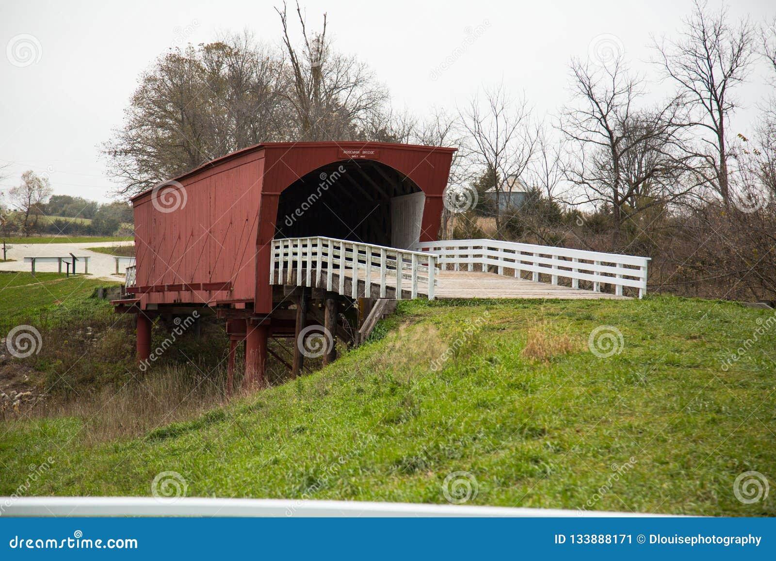 Bridges of Madison County covered bridge