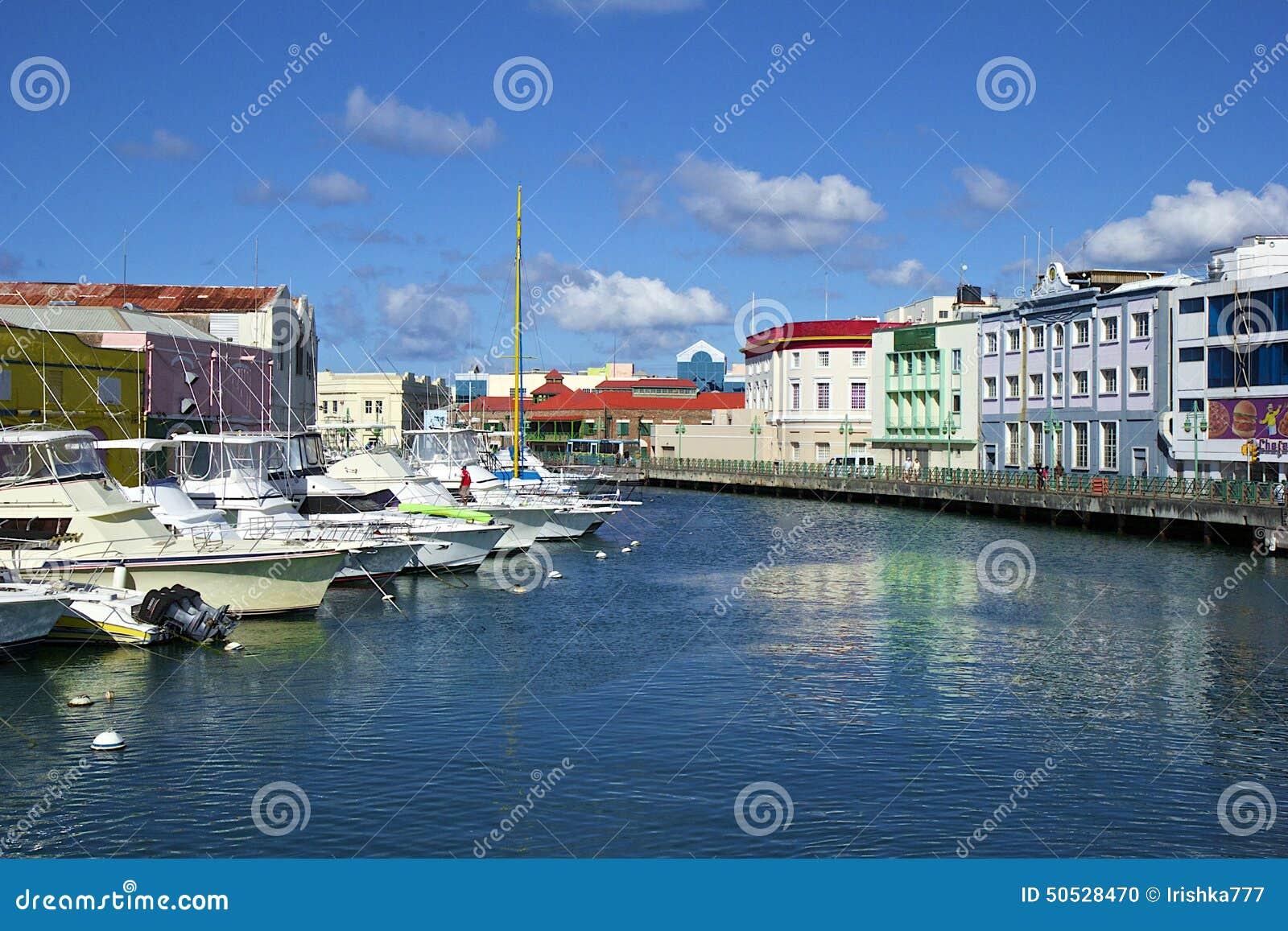 bridgetown capitale de barbade