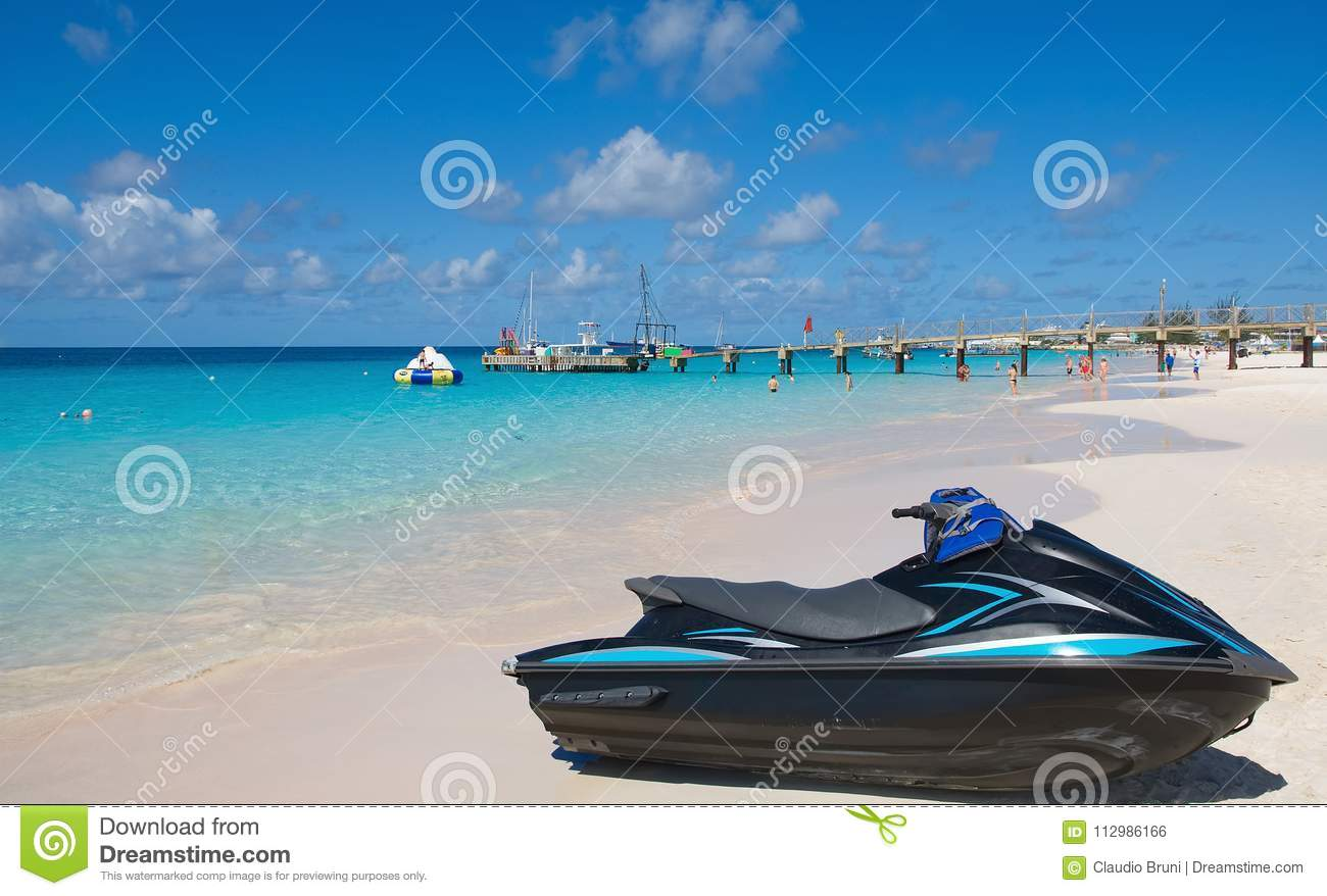 Bridgetown, Barbados - Tropical island - Caribbean sea - Brownes beach - Carlisle bay