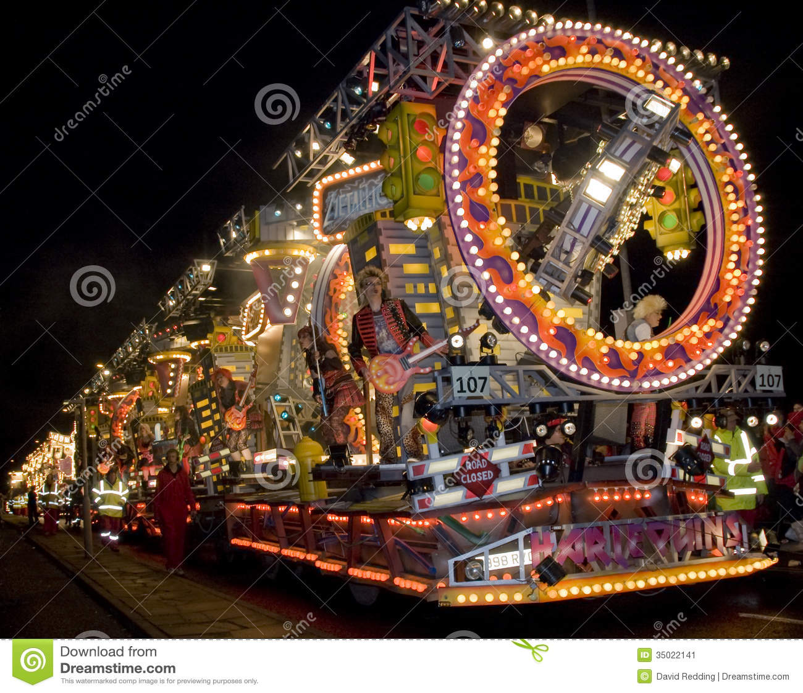 Bridgewater Carnival Float Editorial Photo Image 35022141