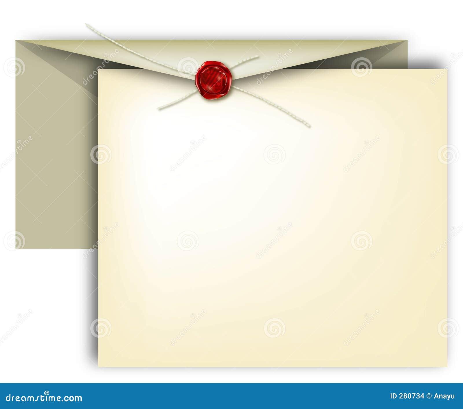 Brief, uitnodiging