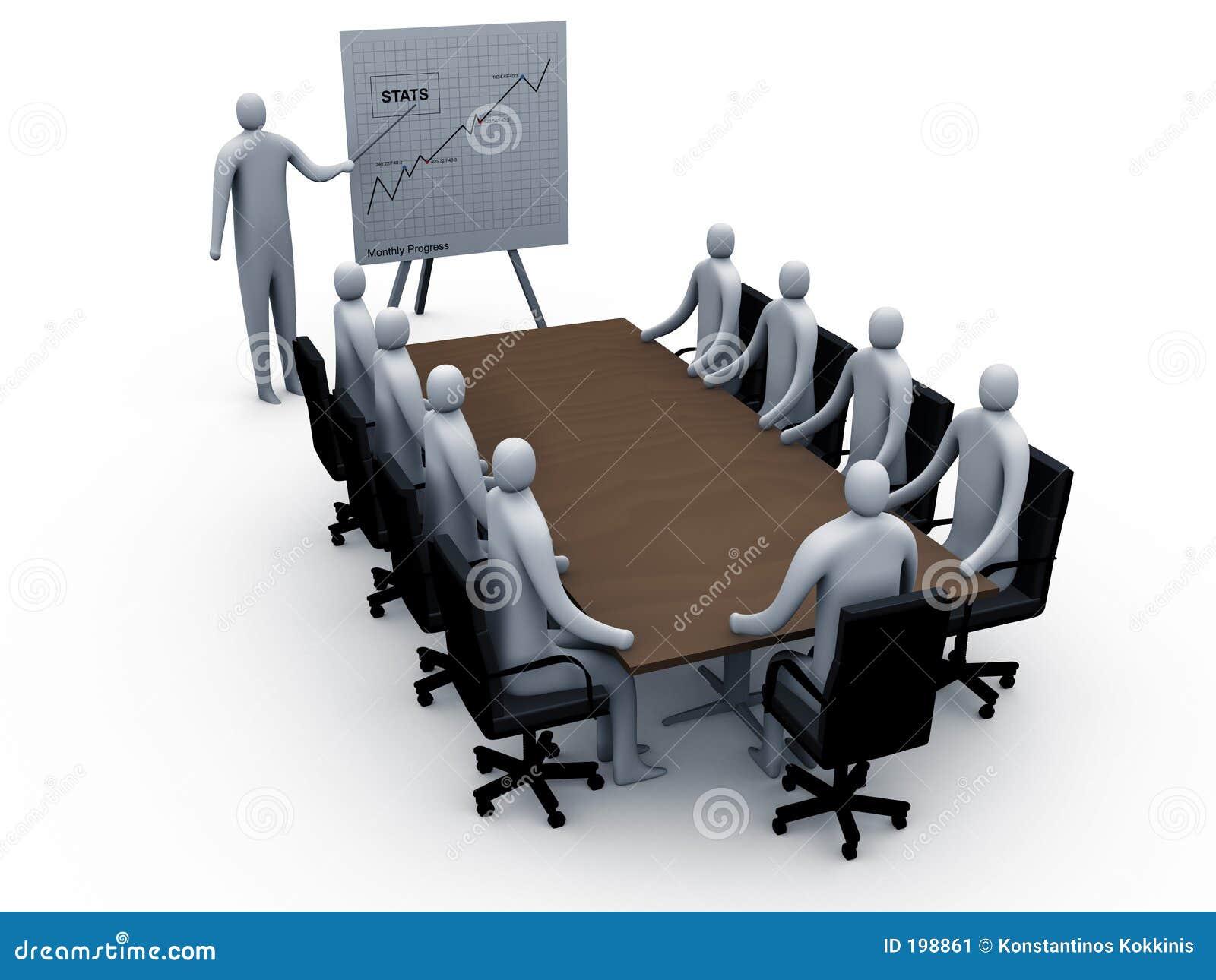 Briefing Room 2 Stock Illustration Illustration Of