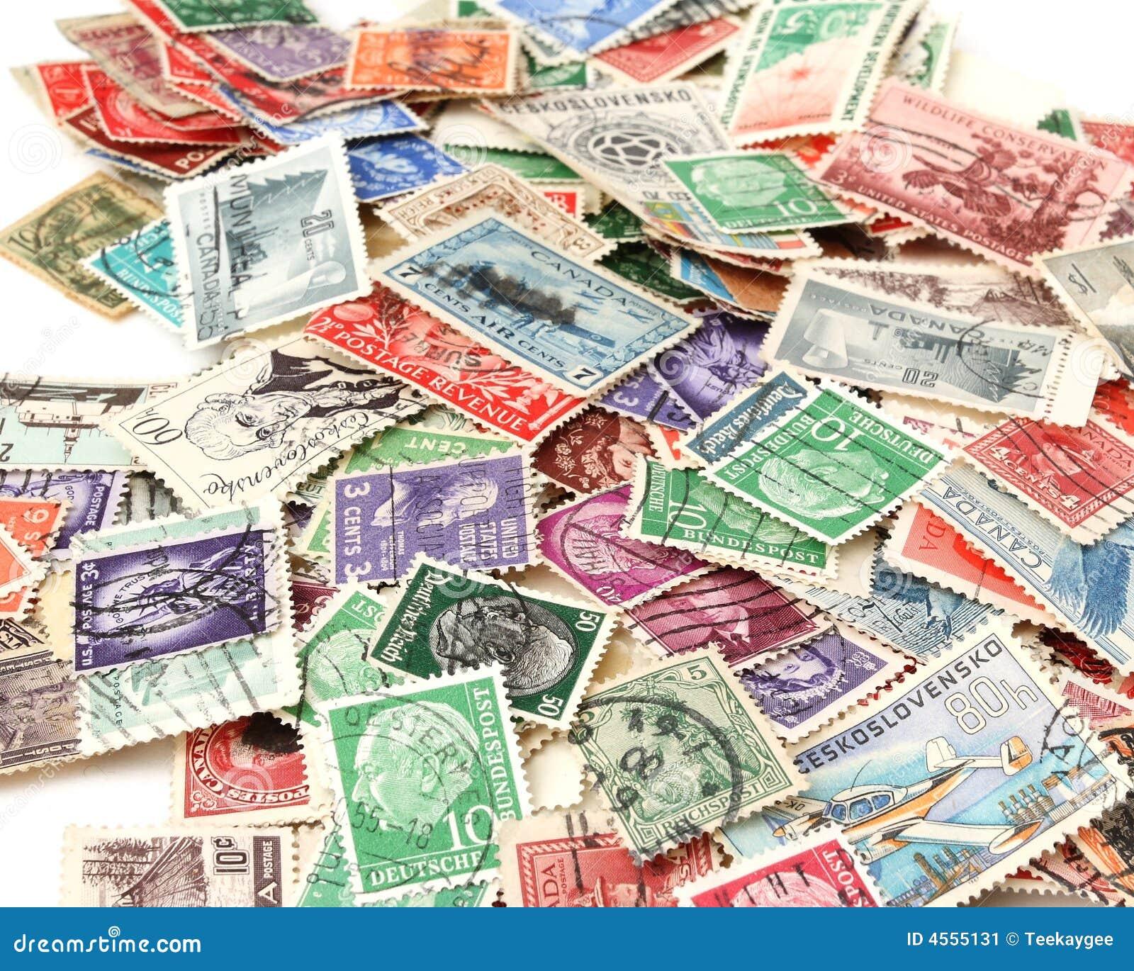 Briefmarken Foto