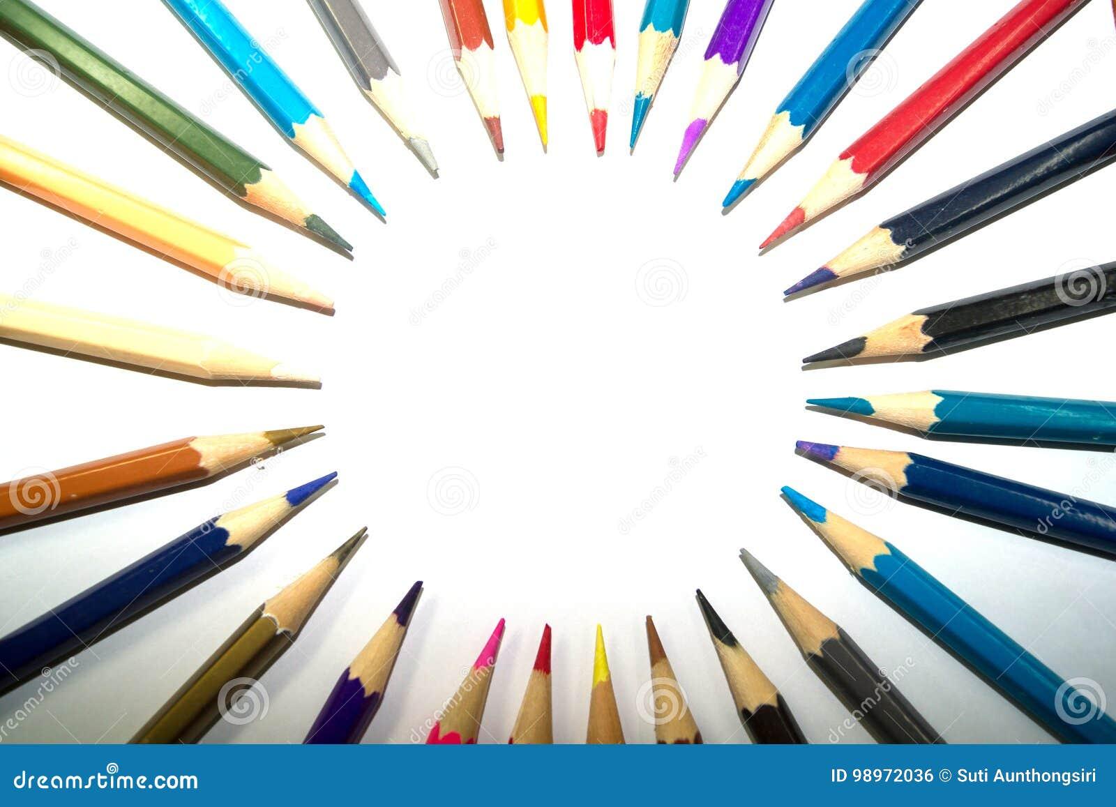 Briefpapier benutzt, um die Kunst zu malen