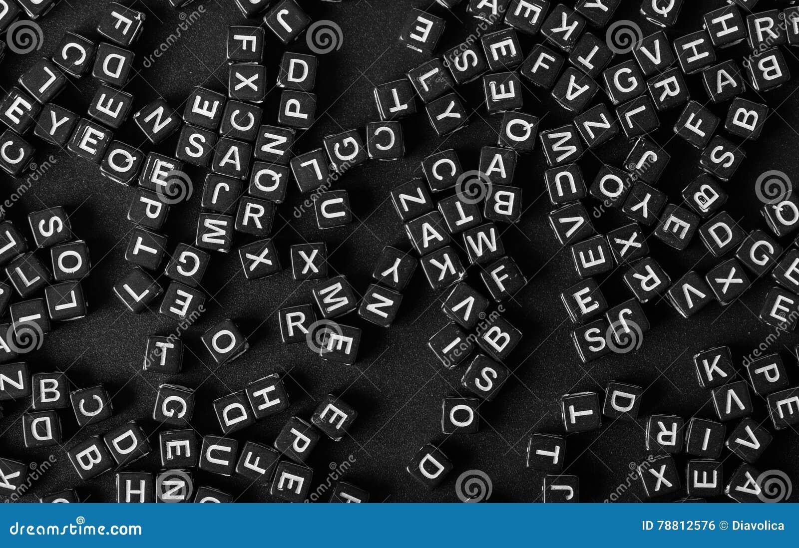 Brieven van het alfabet