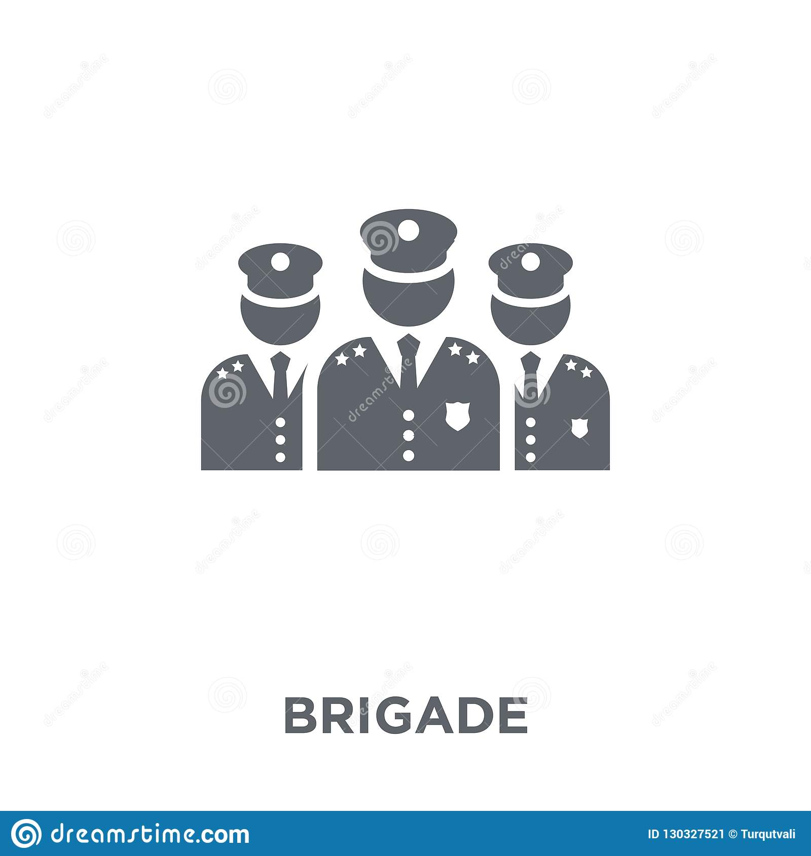 brigade icon from Army collection.